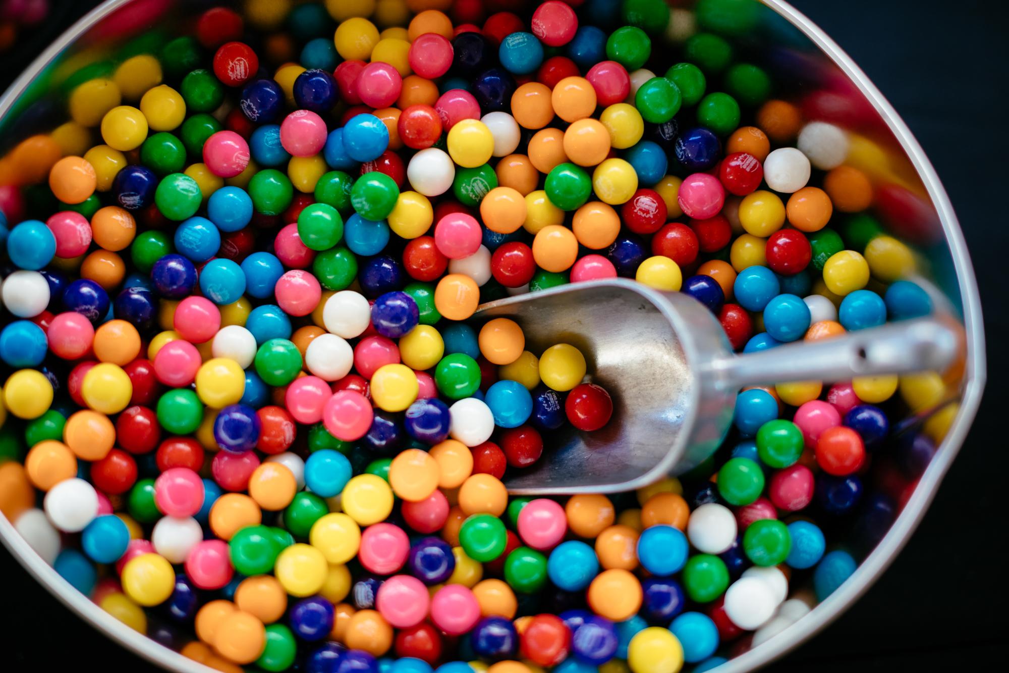 Sweet candy at Dessert Goals.