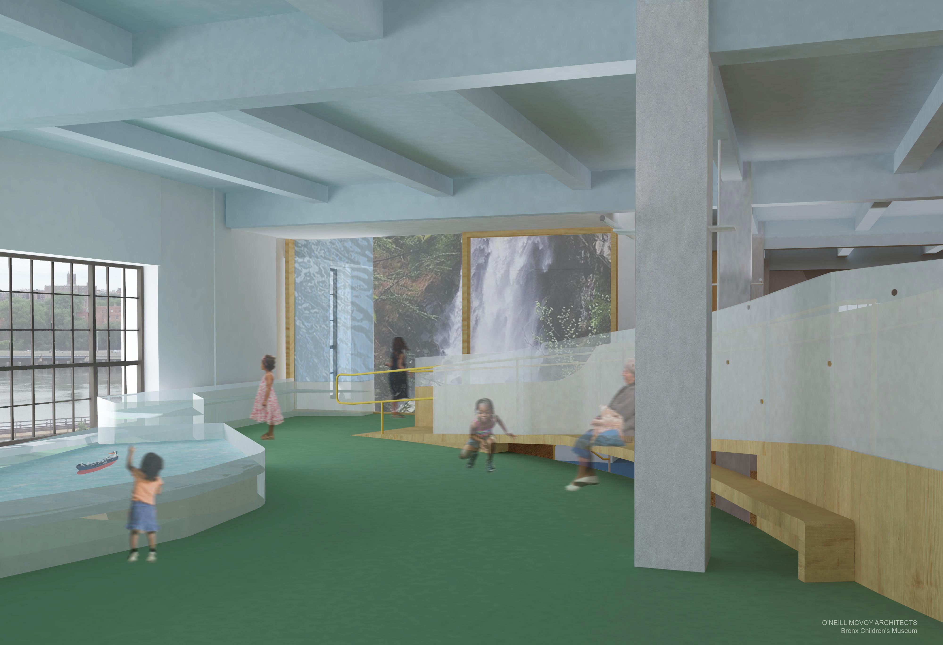 Rendering of the Bronx Children's Museum 2018