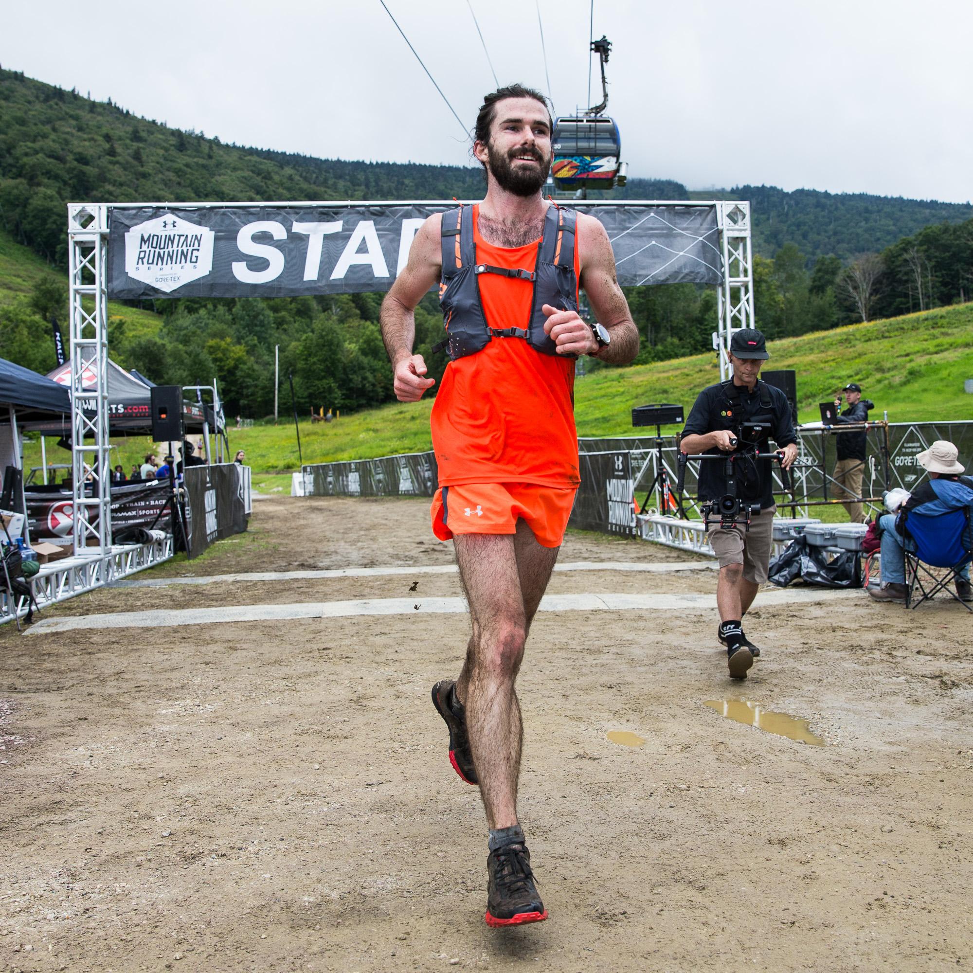 Cody Reed UA Trail Athlete, 50K winner