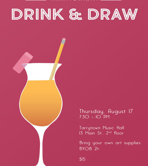 August Drink & Draw