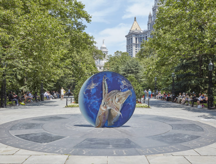Earth Potential in NYC Public art fund