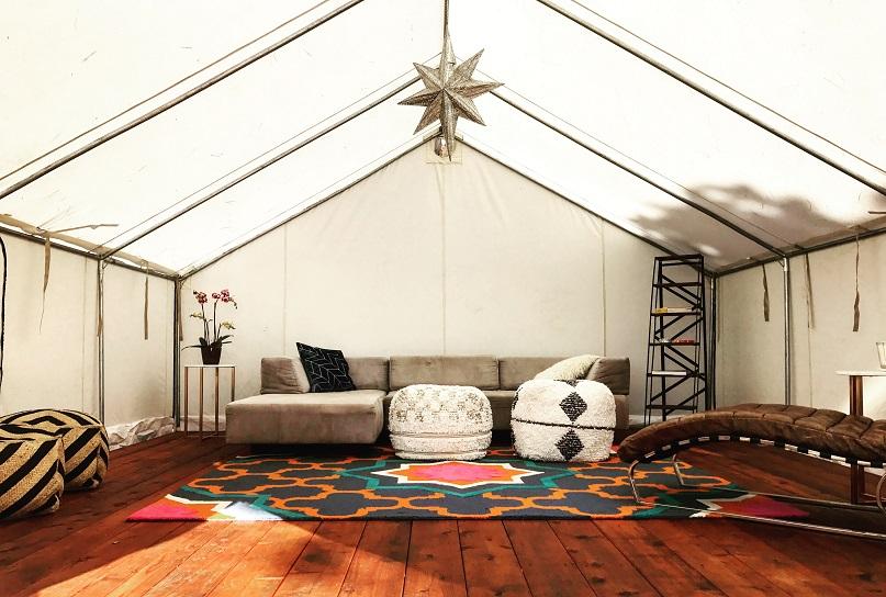 terra glamping lounge