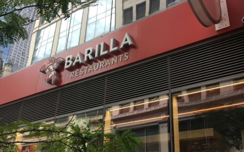 Barilla Restaurants nyc