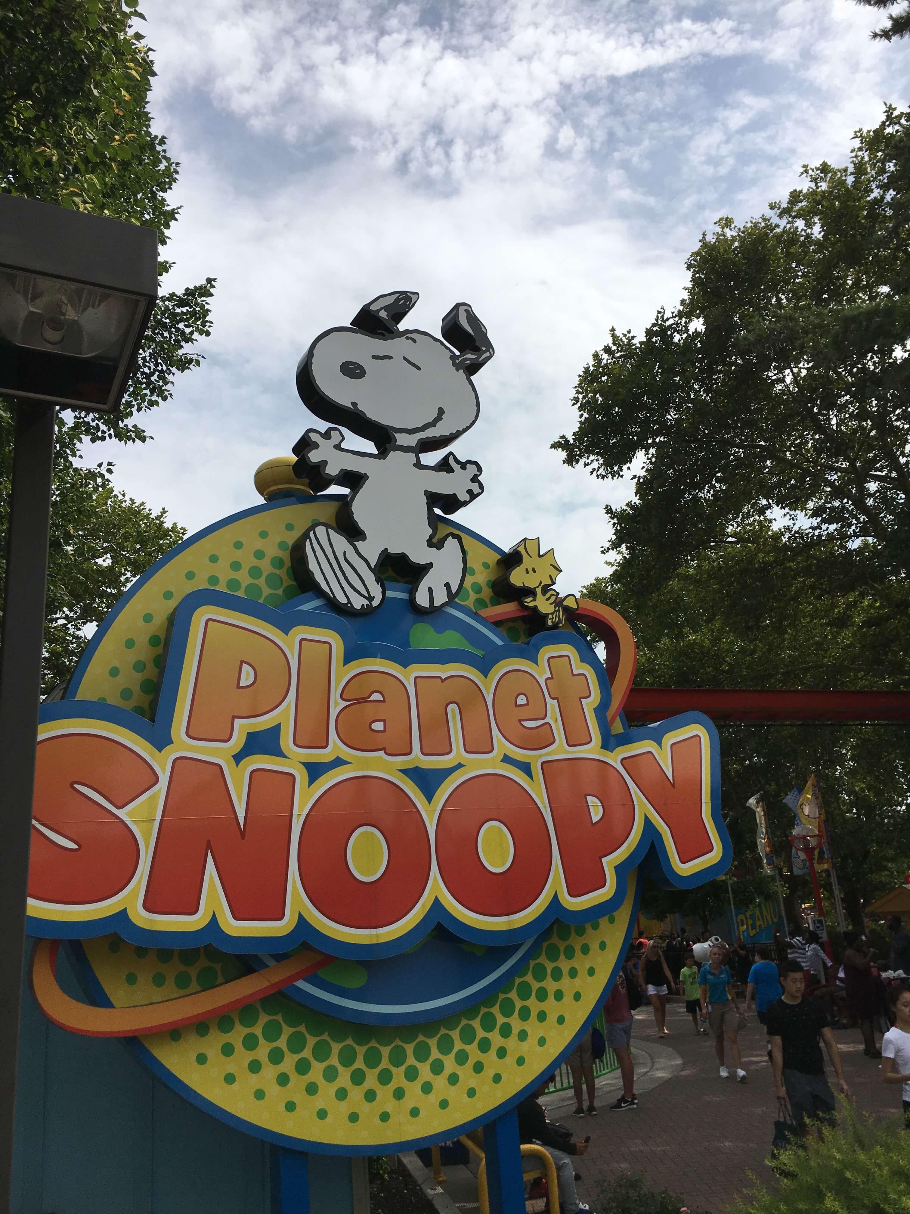 planet snoppy dorney park