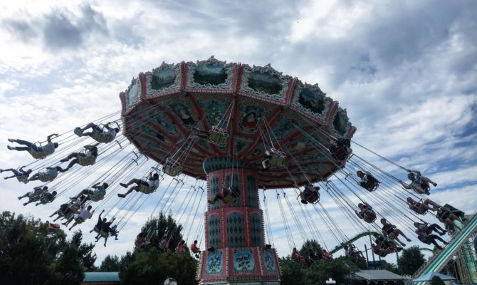 Dorney Park and Wildwater Kingdom swings