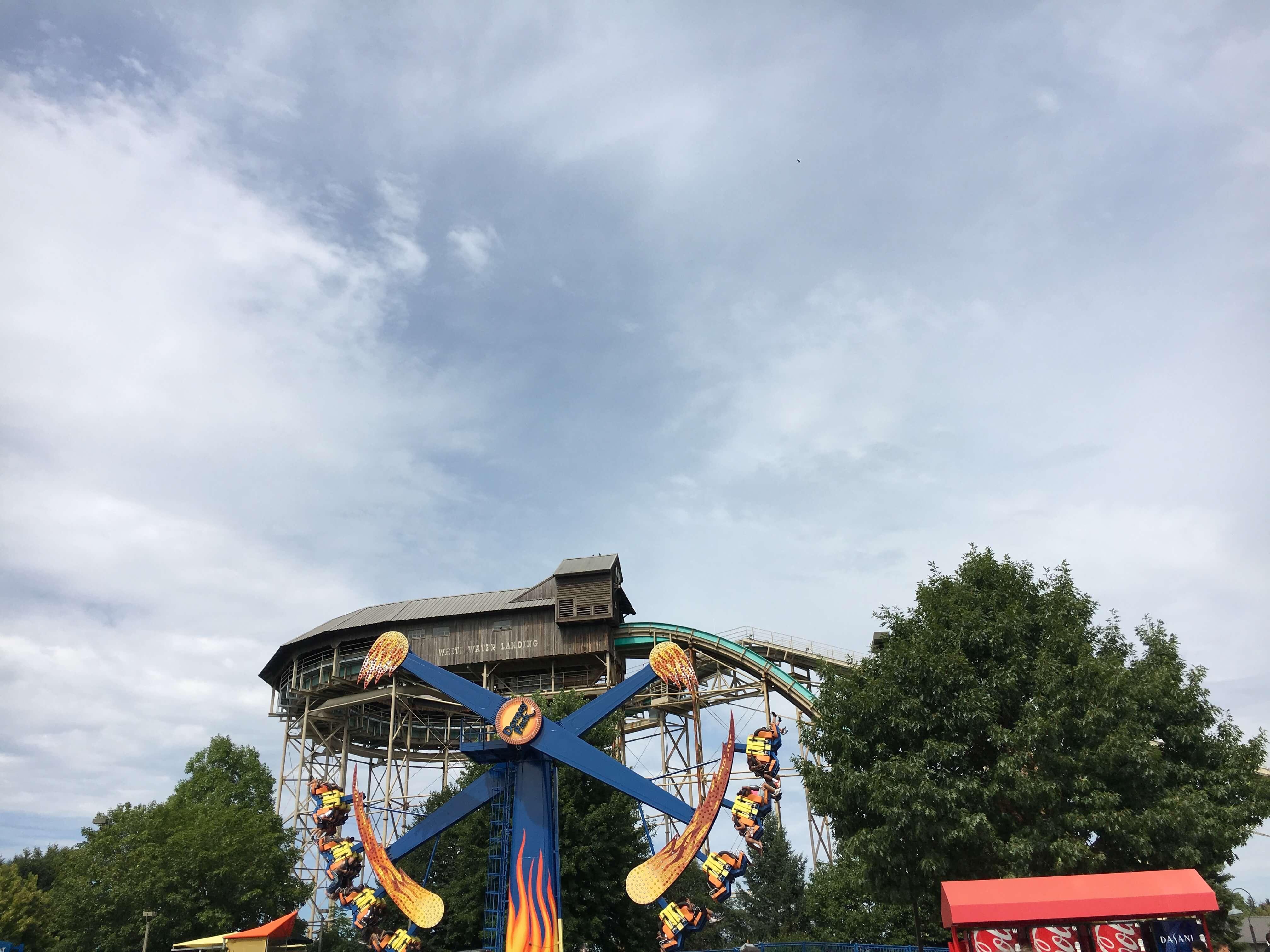 thrill rides dorney park