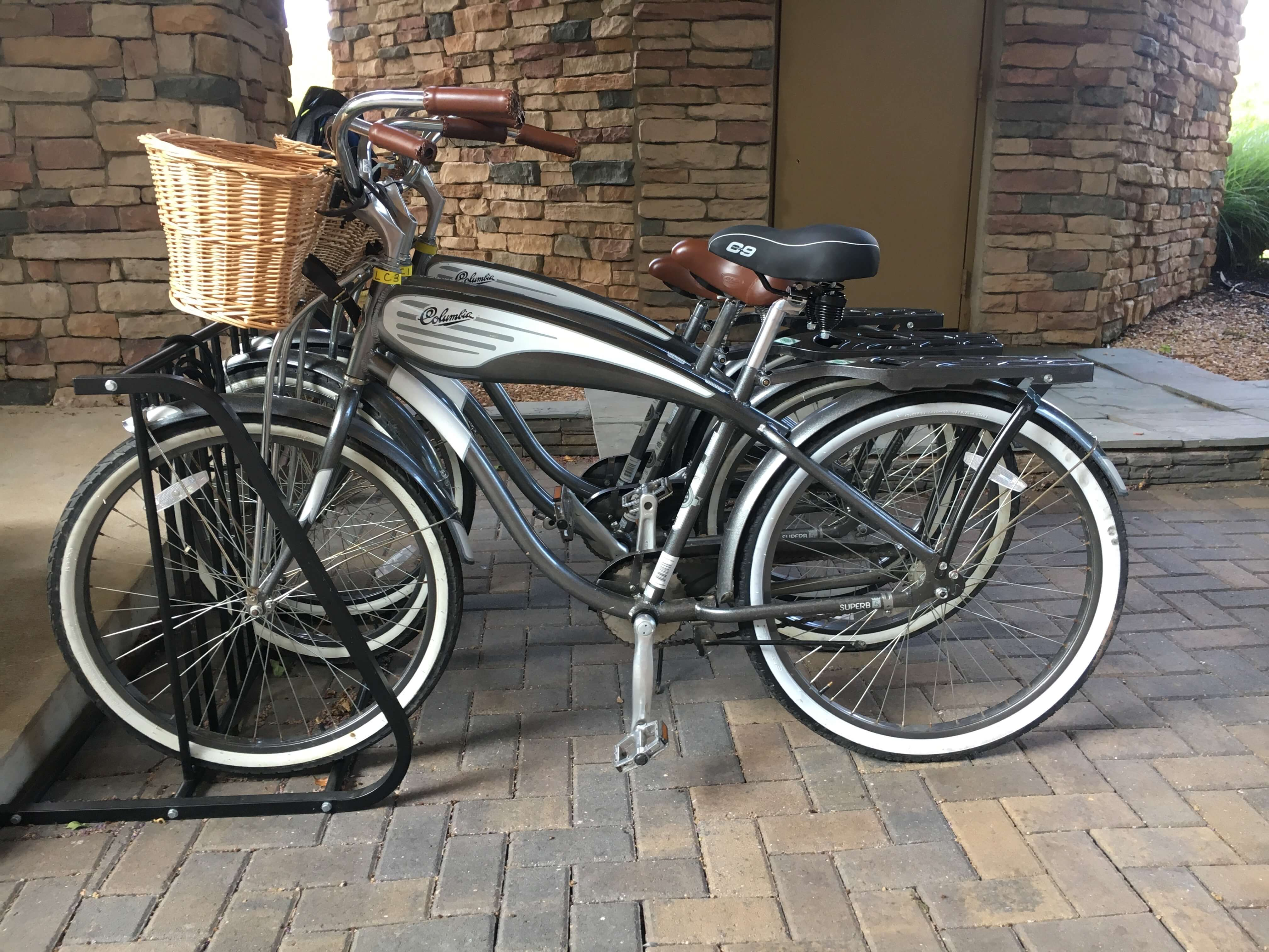 bikes at Lansdowne Resort and Spa