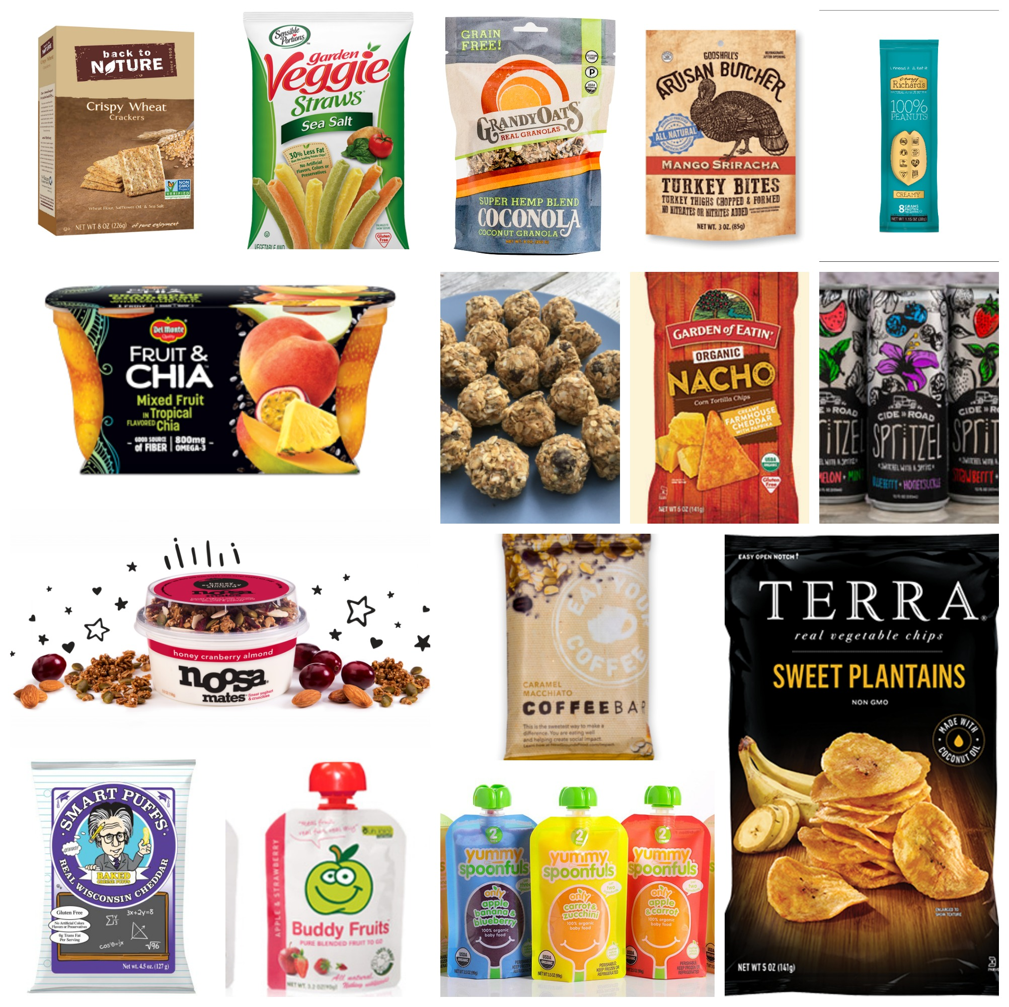 road trip snacks: Packaged Snacks for the Road