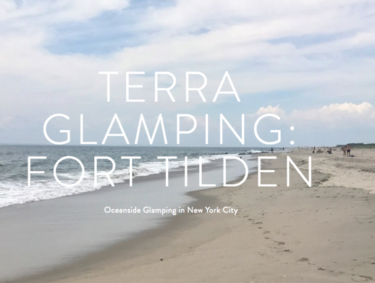 Pop-Up Glamping Experience at Fort Tilden Park this Summer