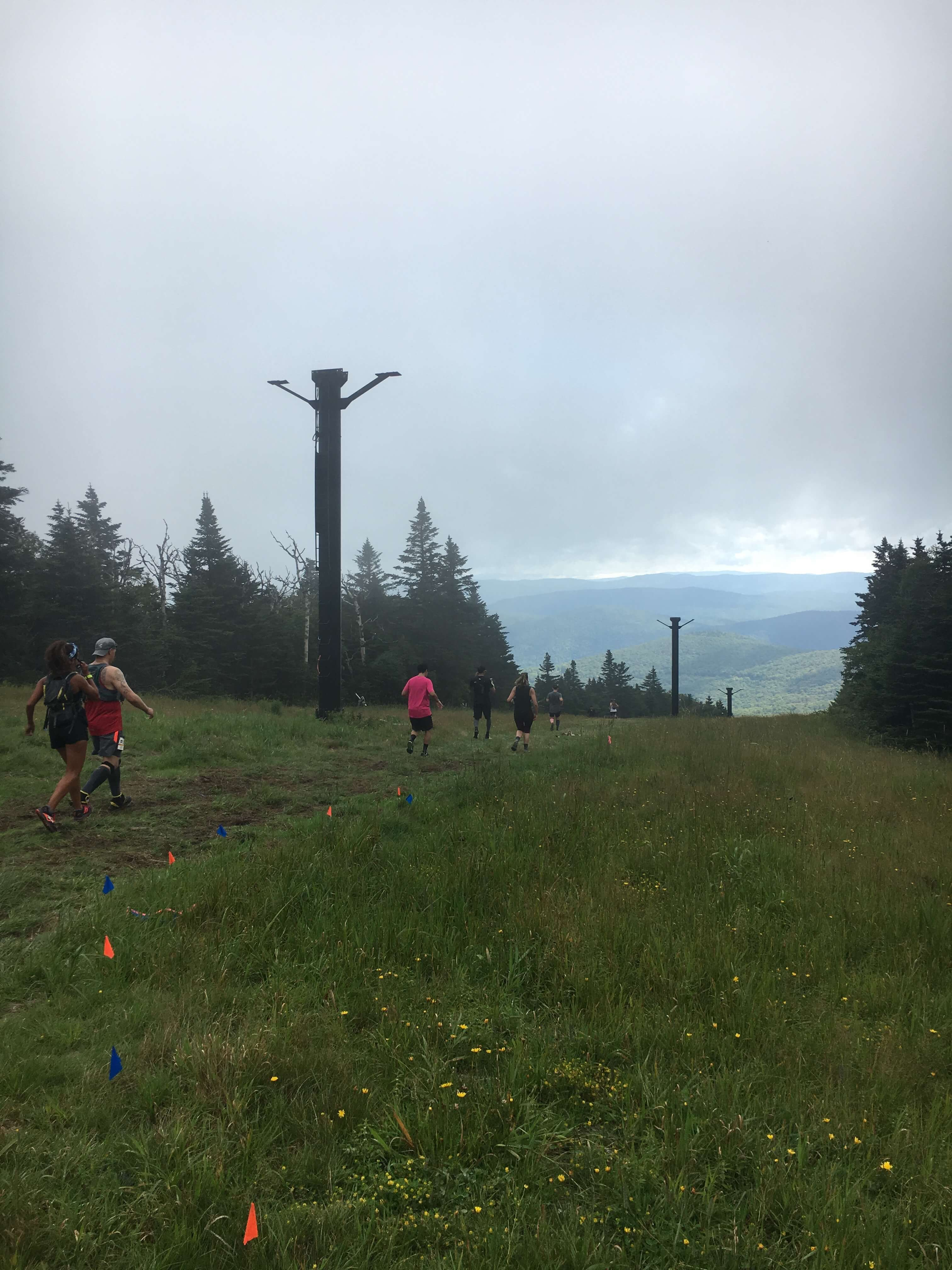 ua mountain running in vermont