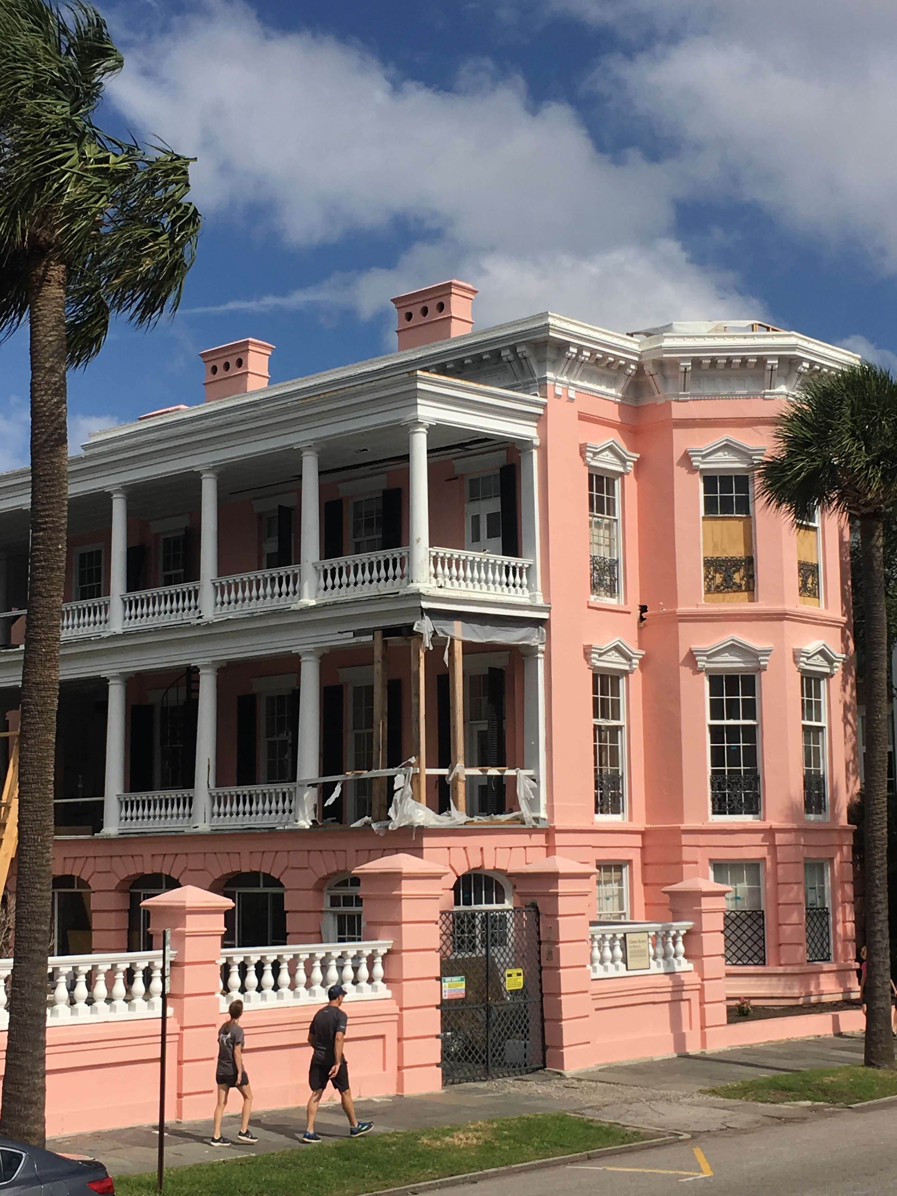 colorful French Quarter charleston with kids