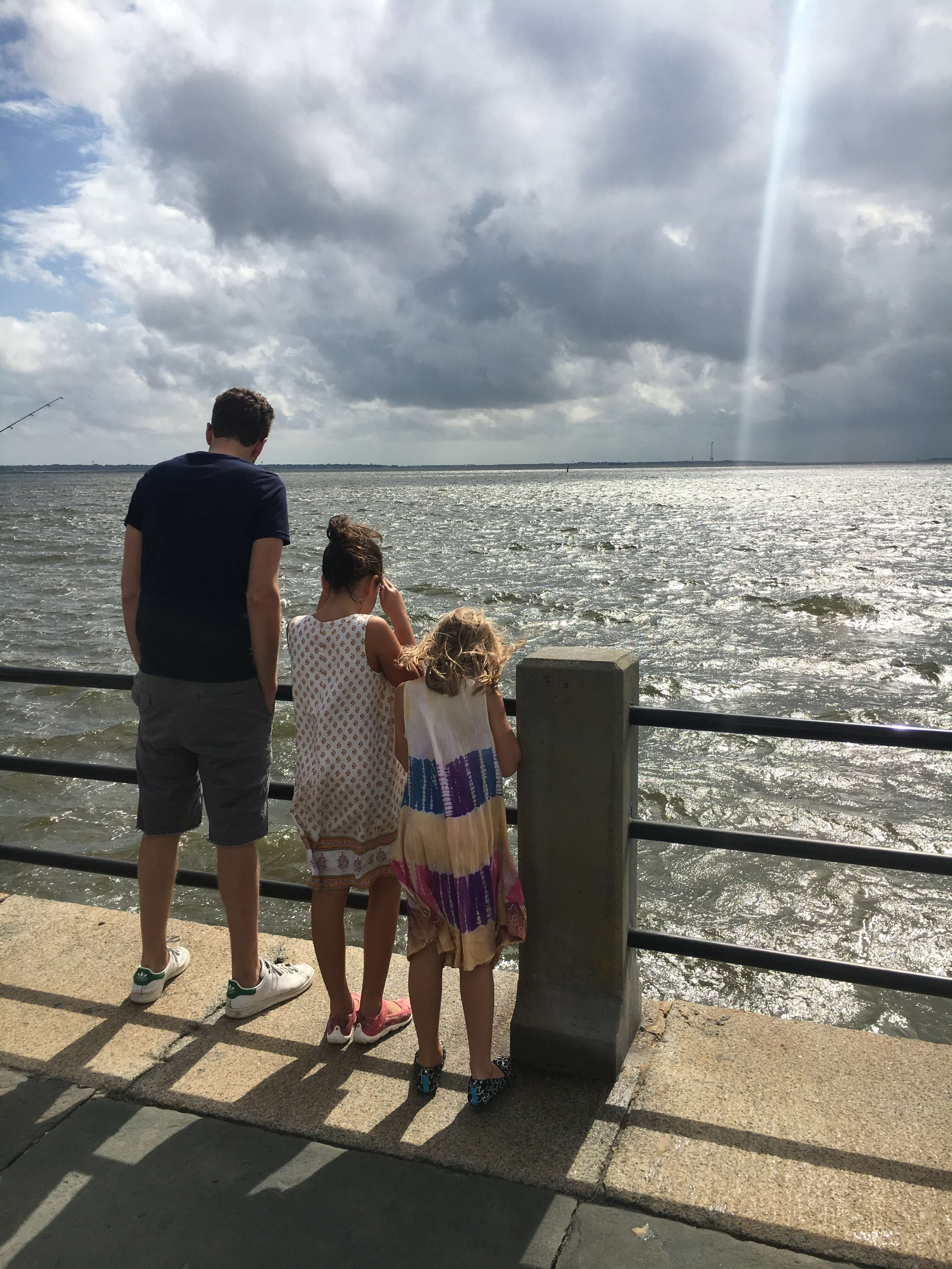 waterfront French Quarter charleston with kids