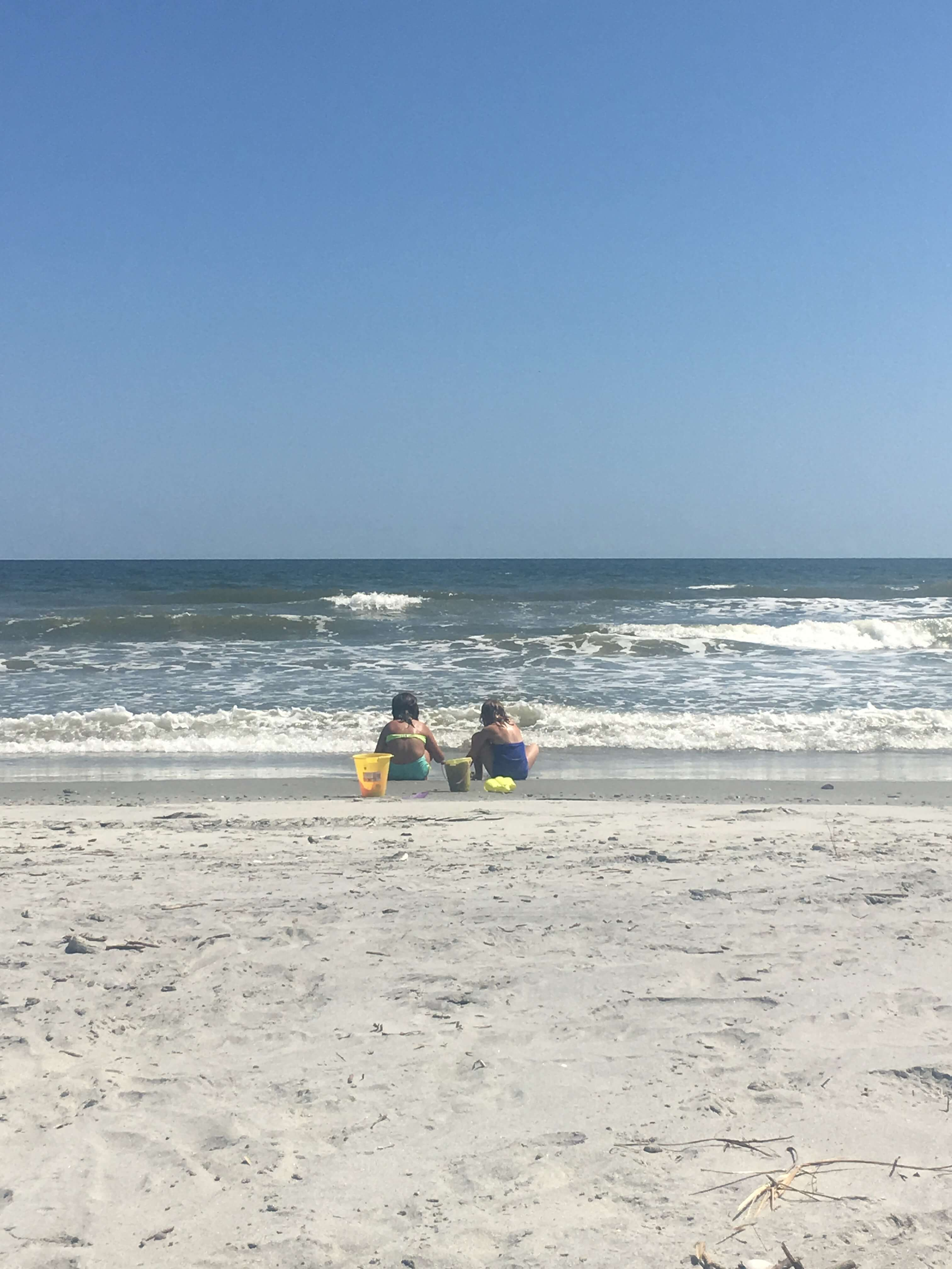 folley beach charleston with kids