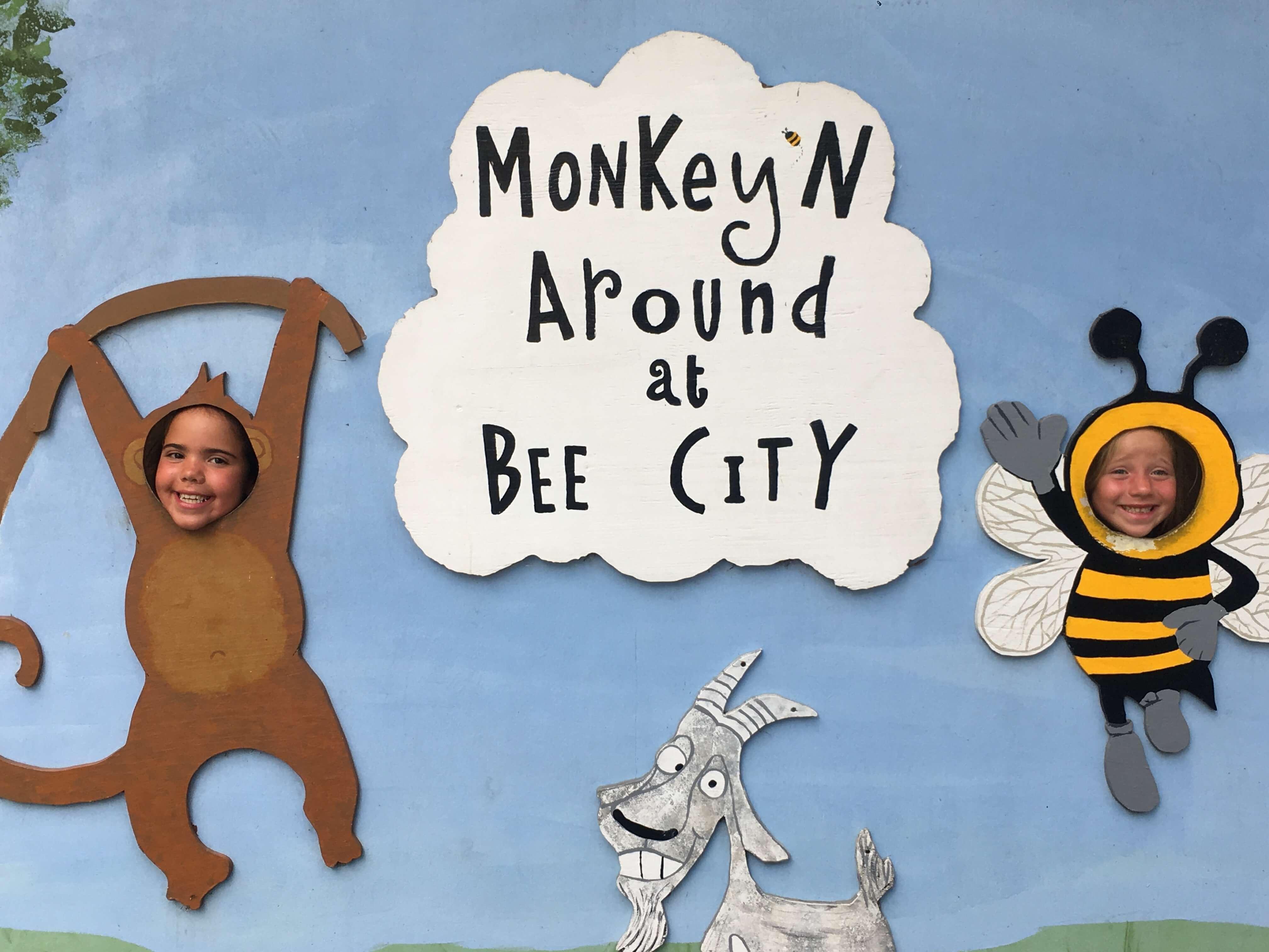 . Bee City Zoo charleston with kids feeding