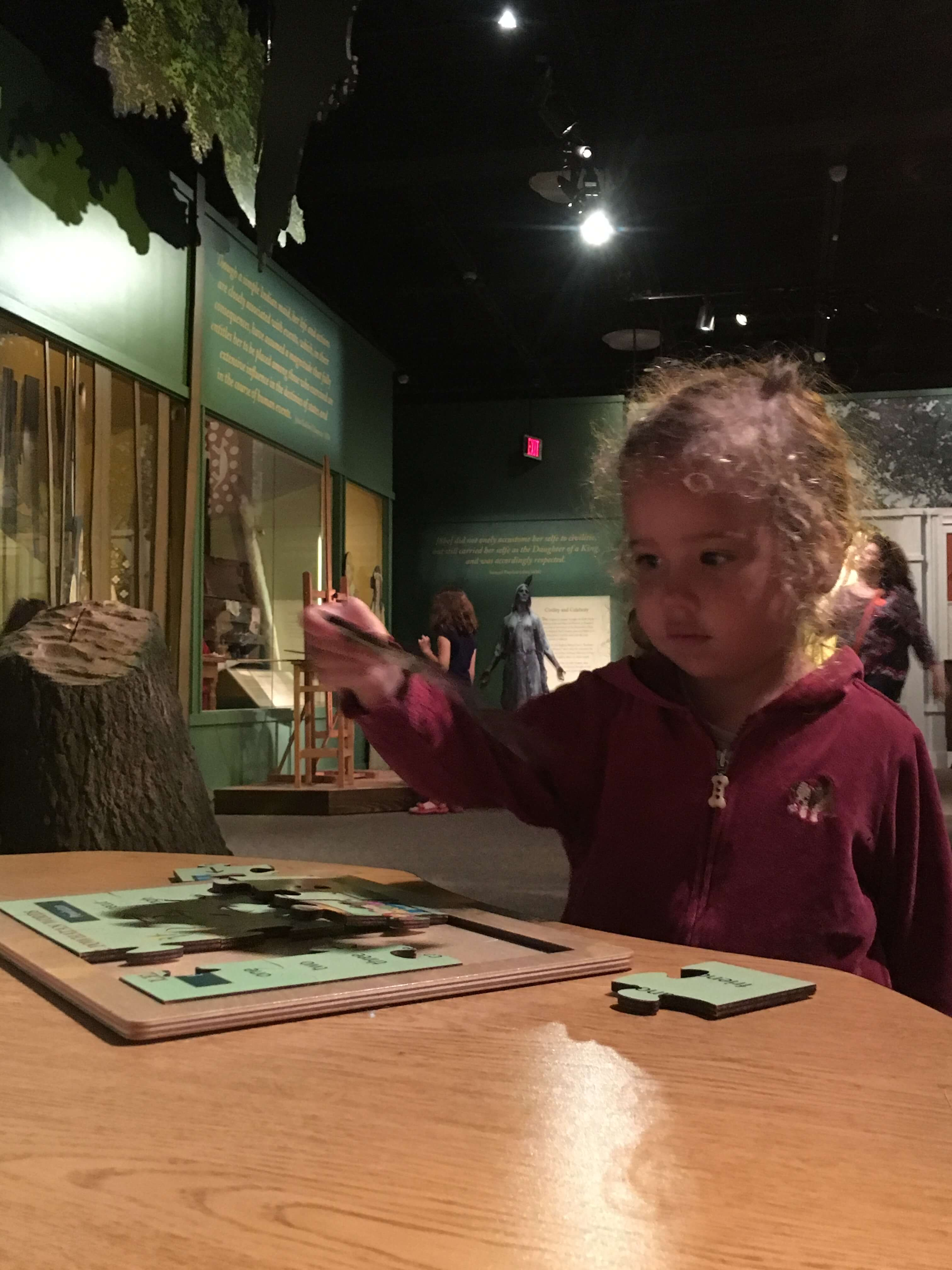 special exhibits at Jamestown settlement