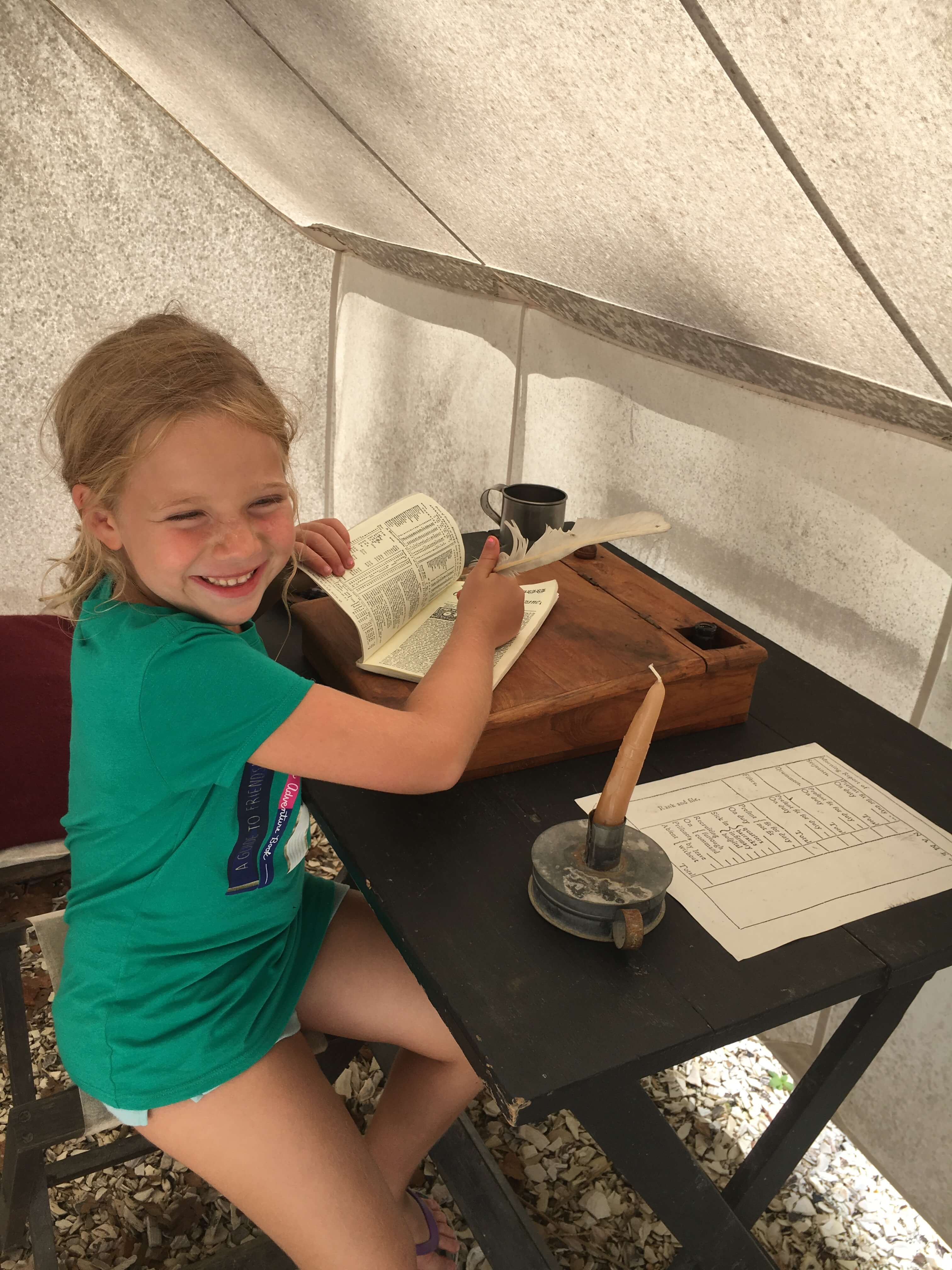forst at American Revolution Museum: williamsburgh with kids