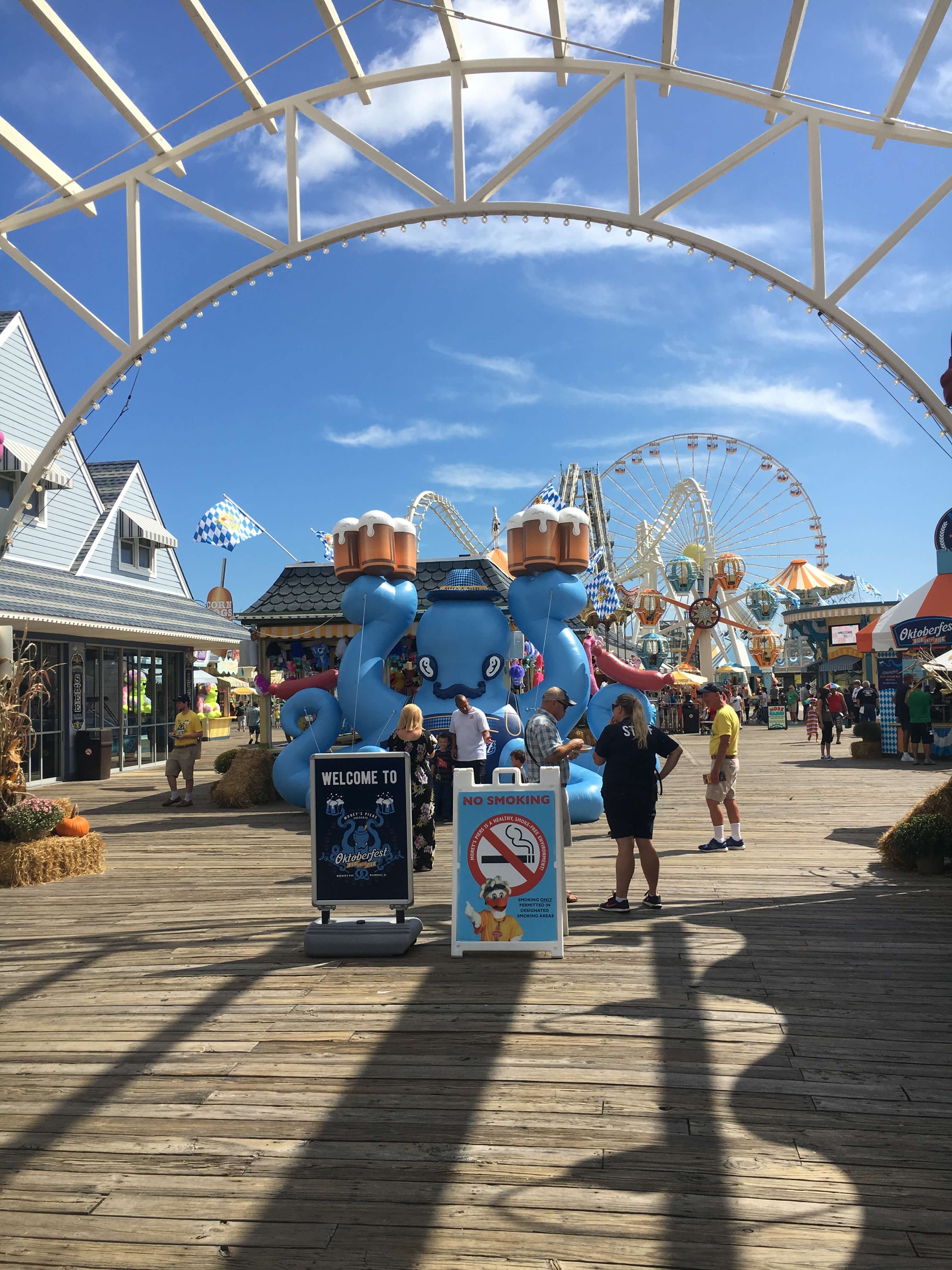 fall fun for kids morey's piers in new jersey