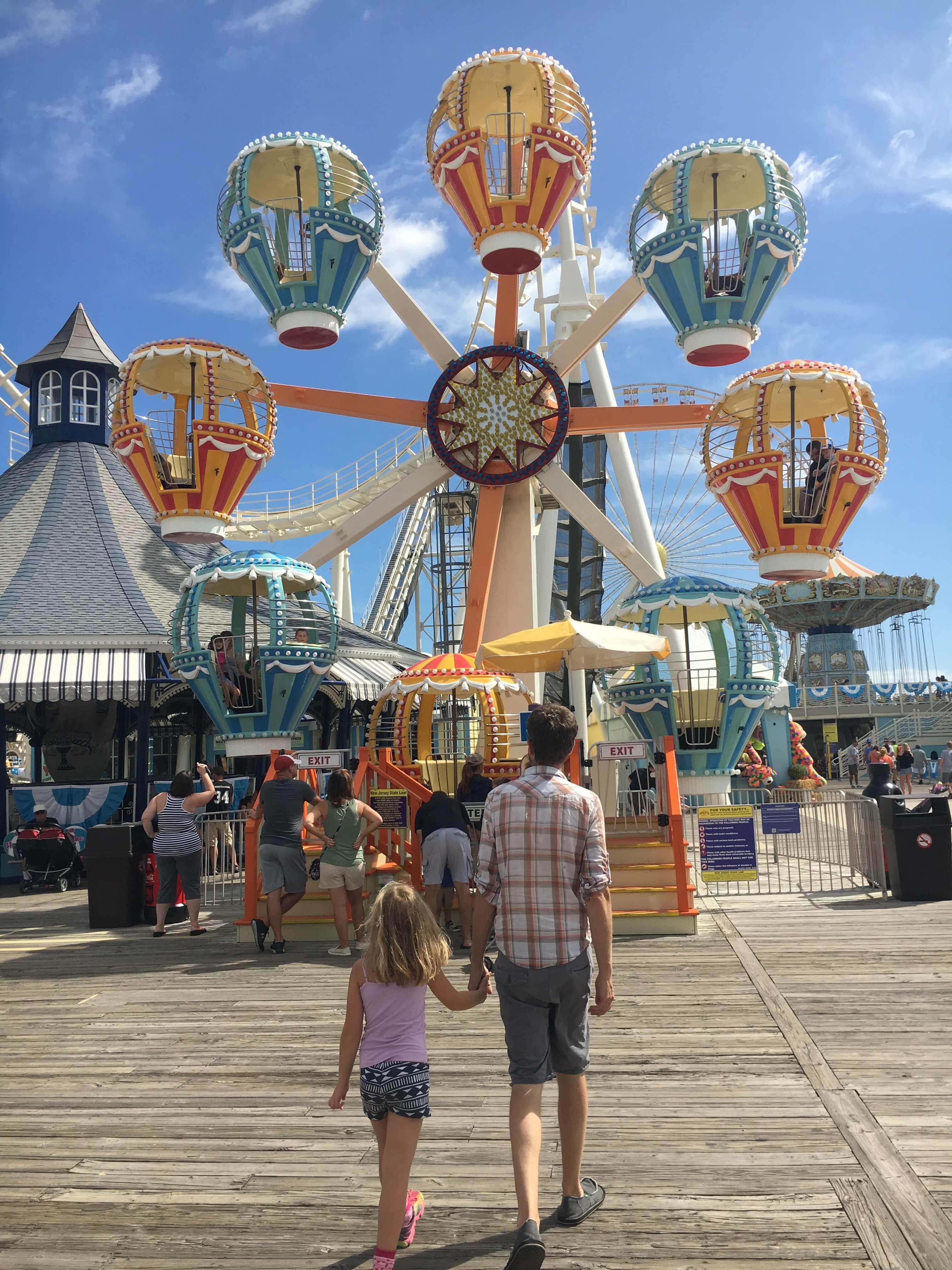 Fall Fun at Morey's Piers rides