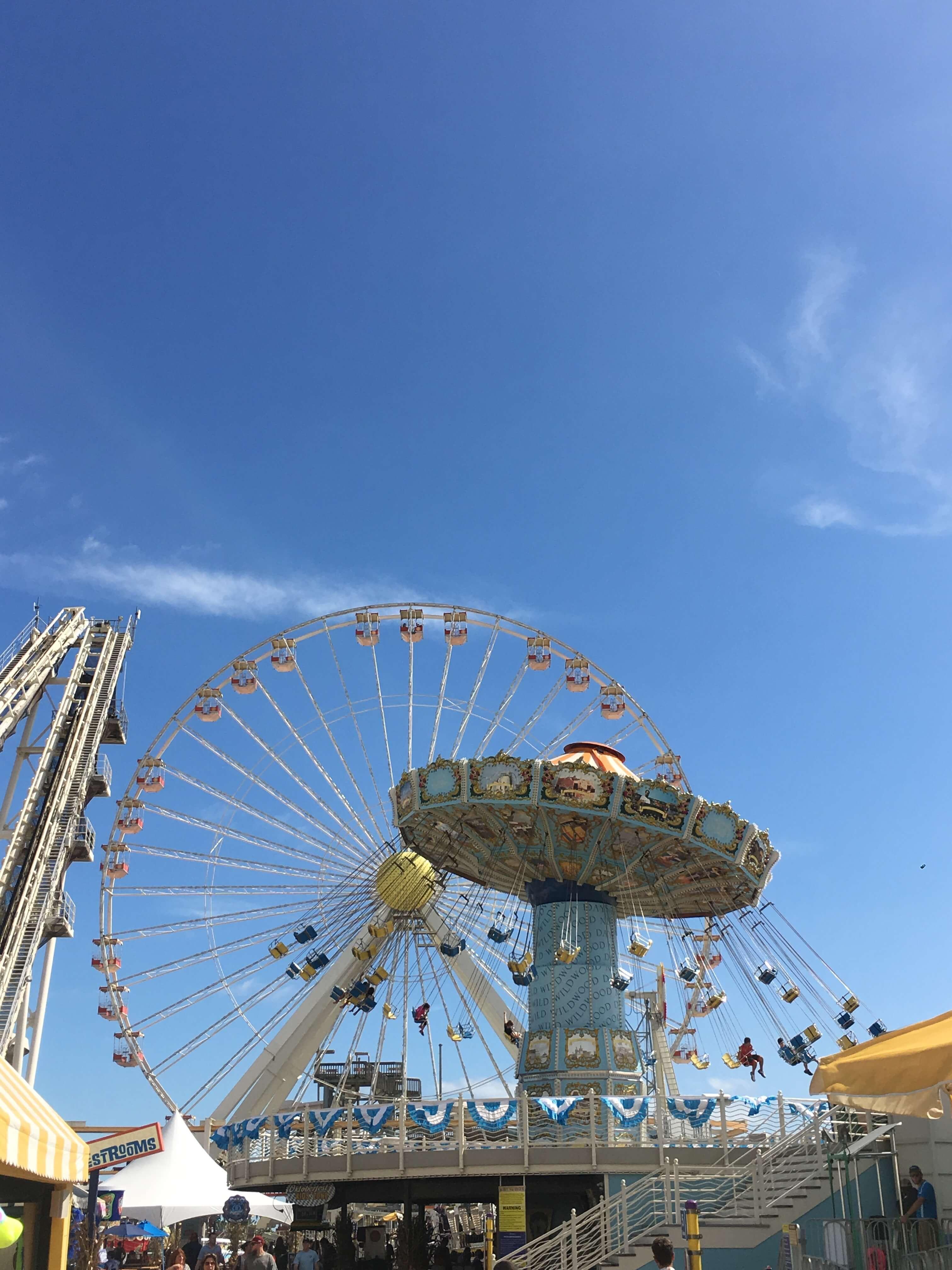 Fall Fun at Morey's Piers fun rides