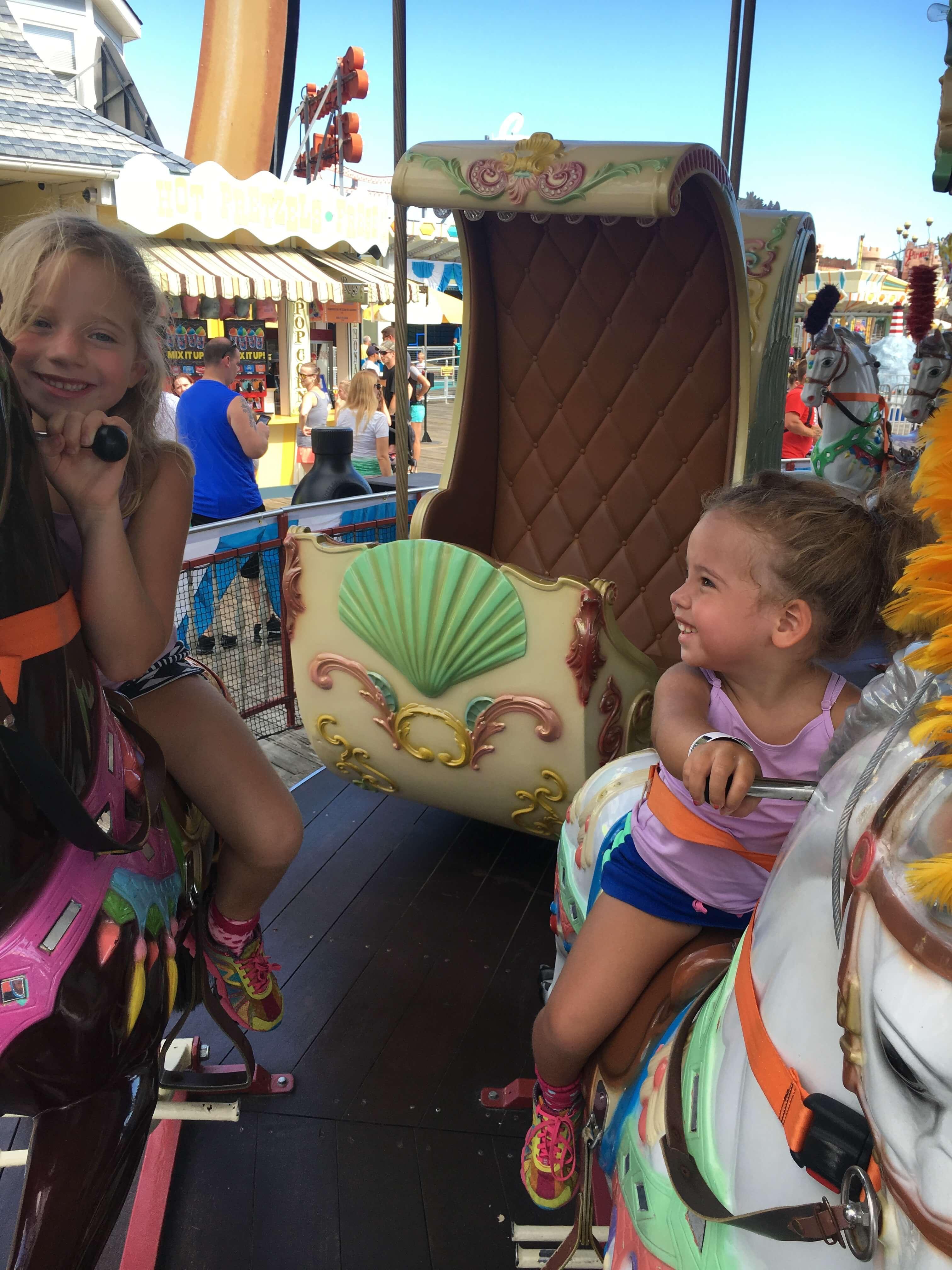 carousel Fall Fun at Morey's Piers fun rides