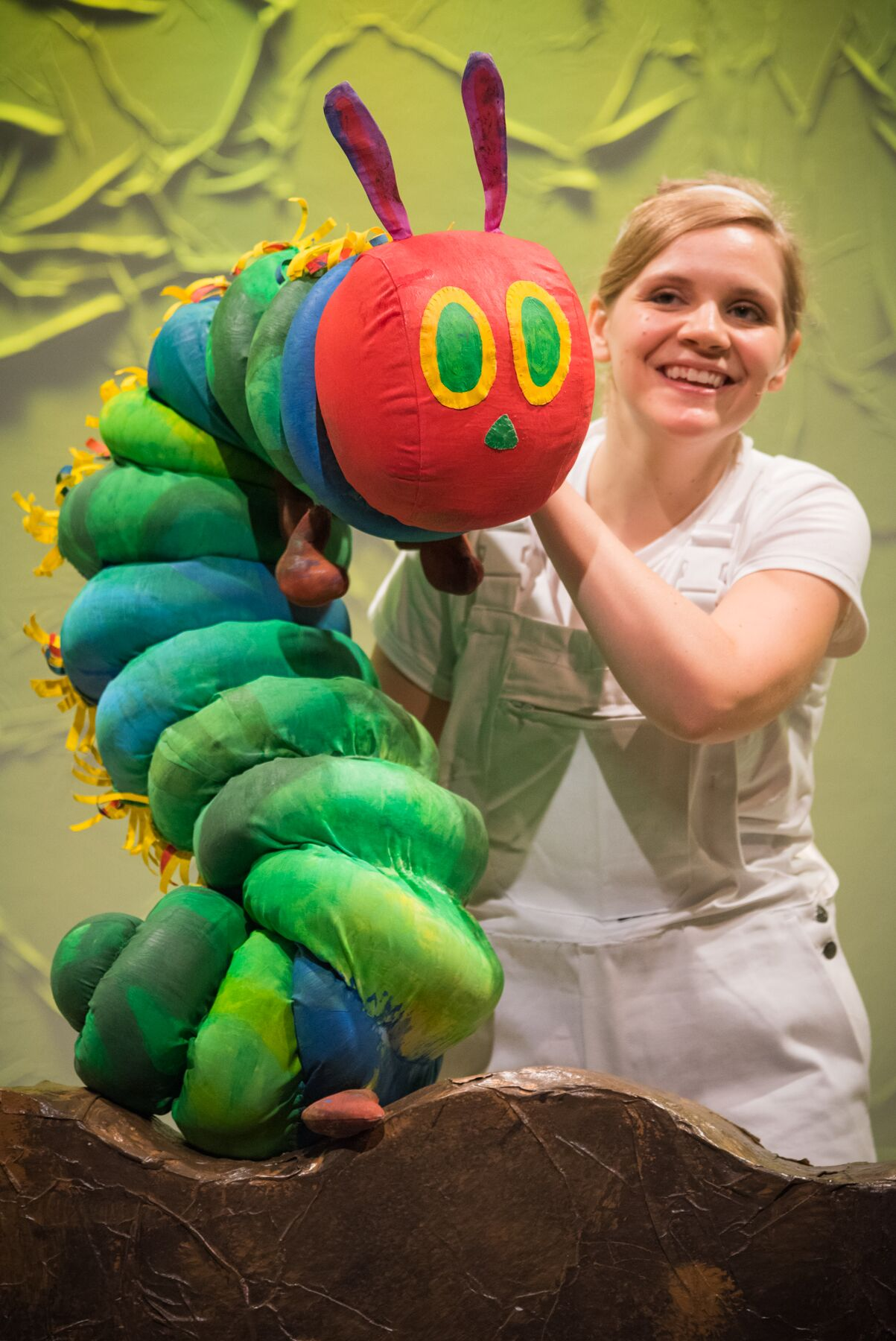 The World of Eric Carle Comes to Life in The Very Hungry Caterpillar Show.