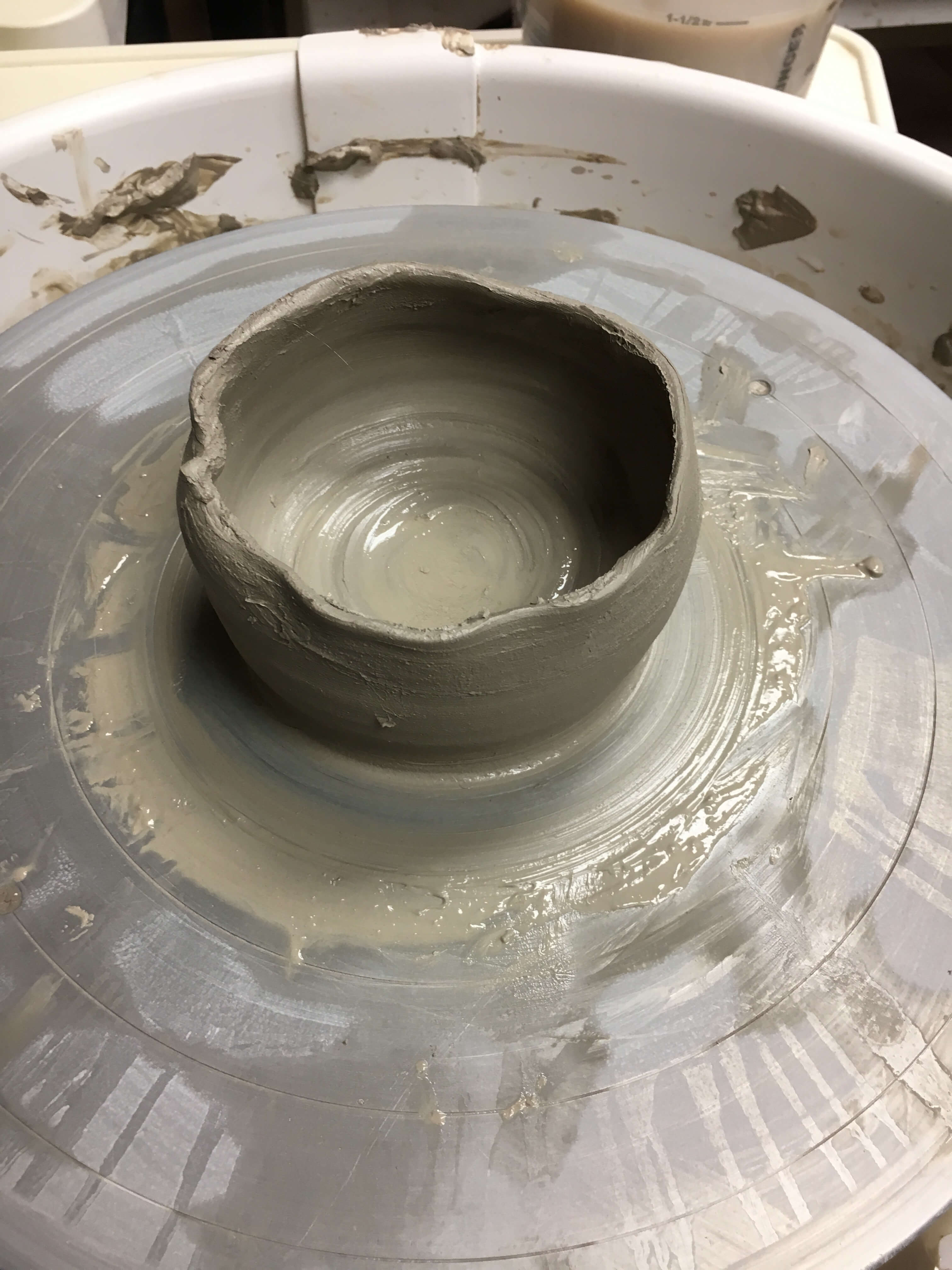 Date Night Idea: Clay Soirée at the Yonkers Pottery Studio process