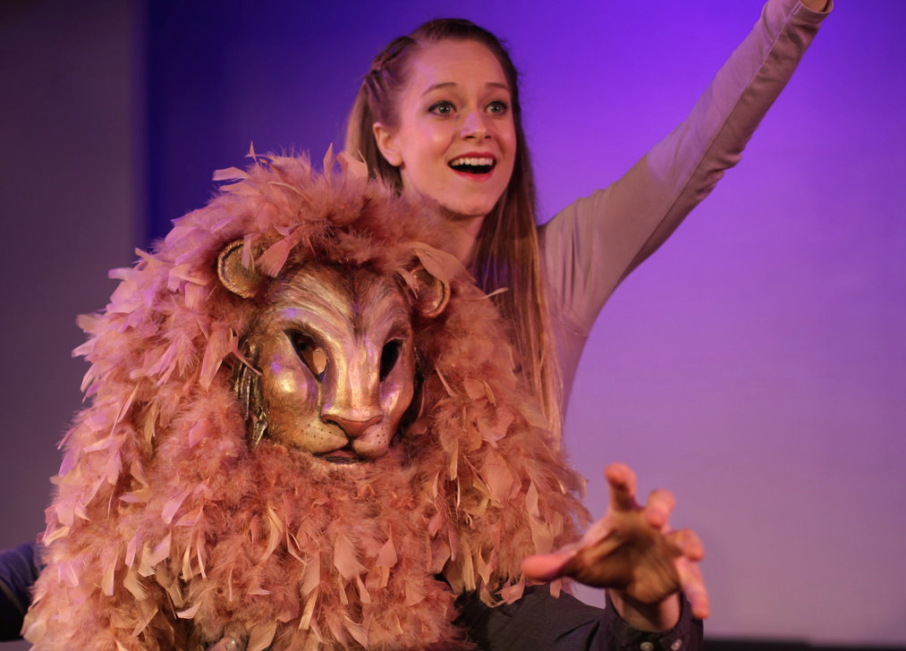 The Lion, the Witch and the Wardrobe, come to life at St. Luke's Theater in NYC
