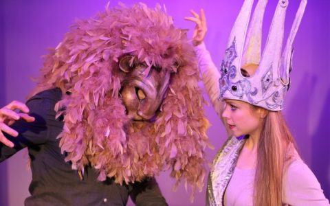 The Lion, the Witch and the Wardrobe, come to life  at St. Luke's Theater in NYC.