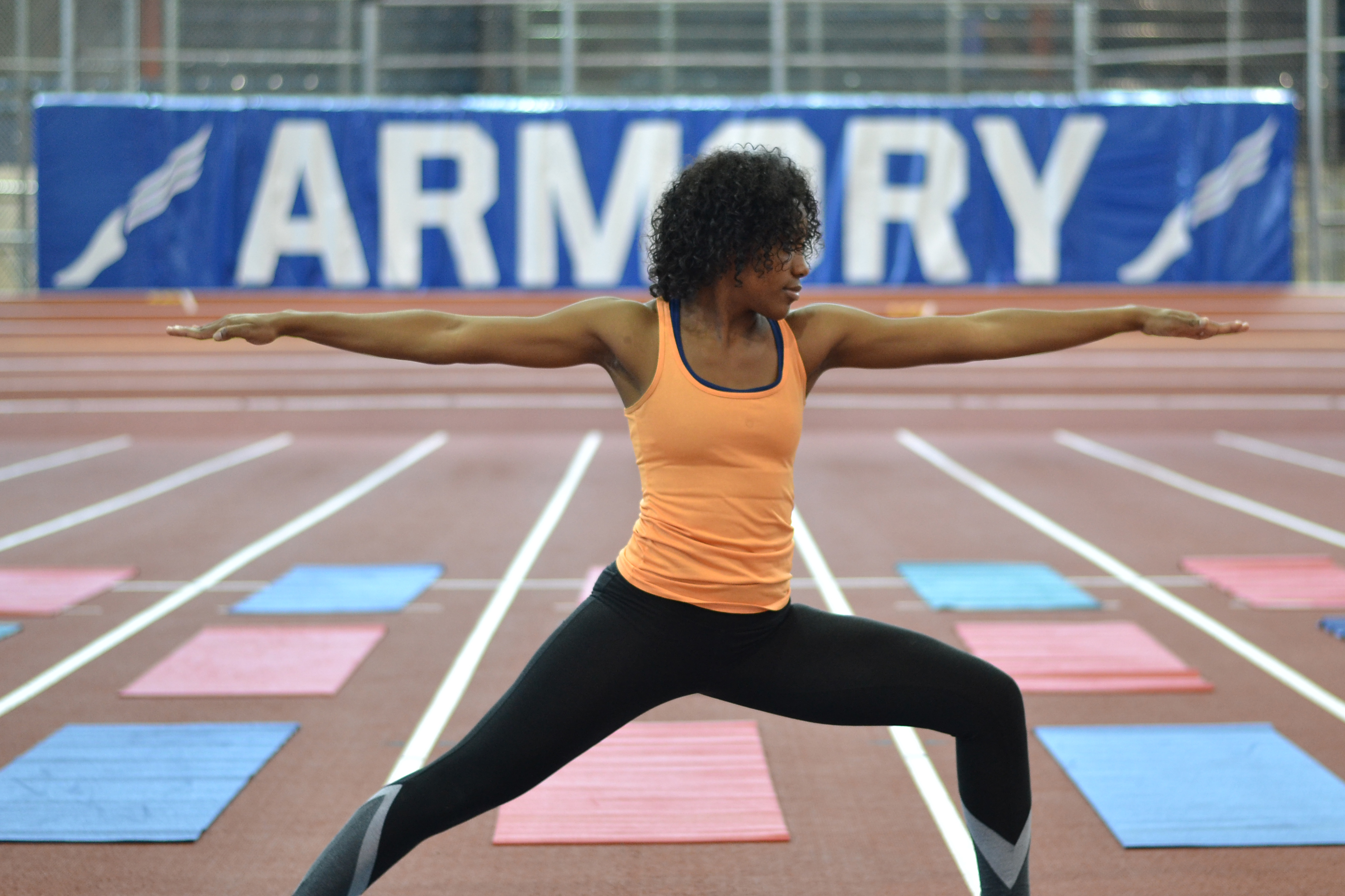 'Namaste on Track' Event With Renowned Instructors at The Armory