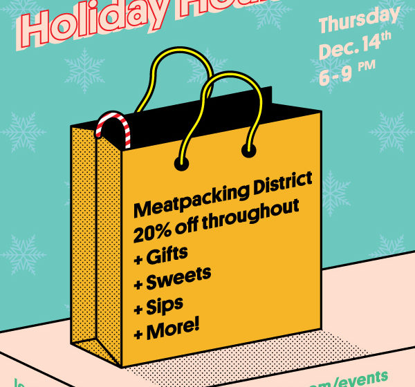 Meatpacking District's 'Very Merry Holiday Hours'
