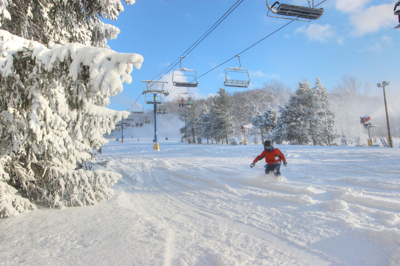 family fun first-time ski package