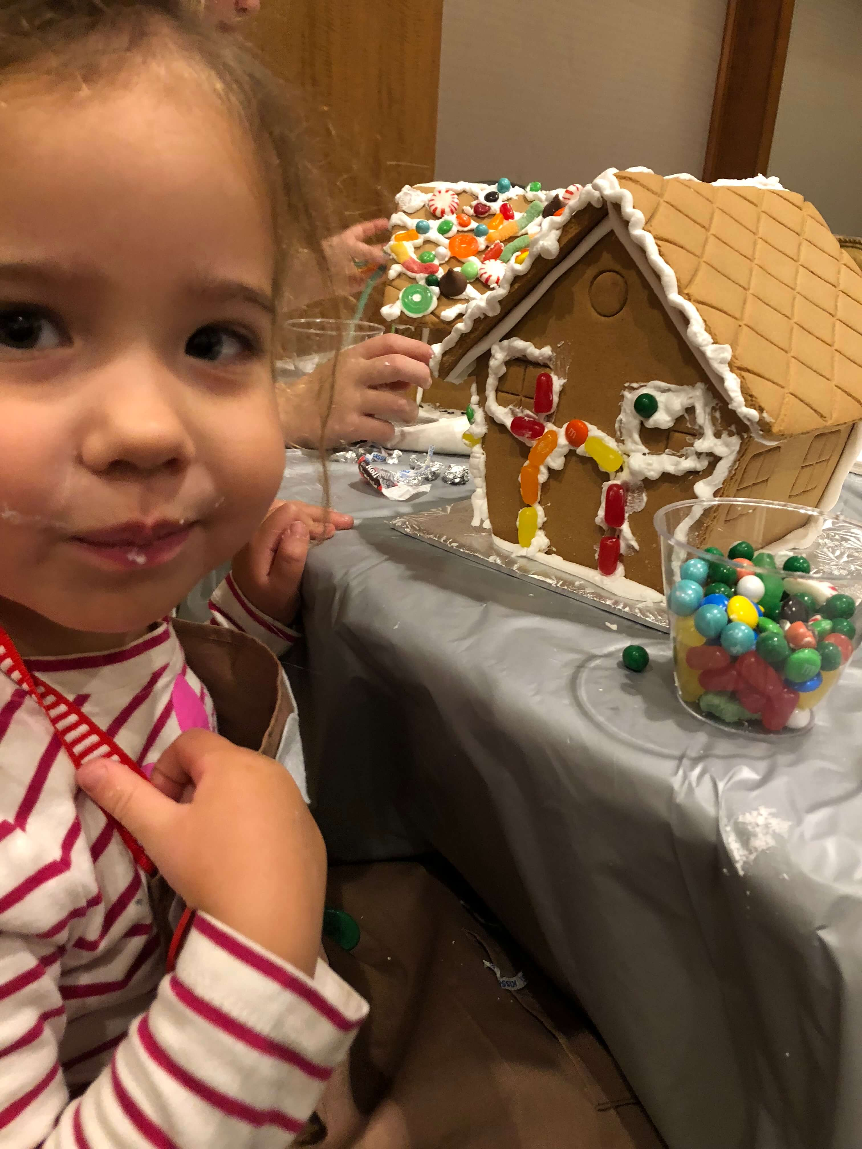gingerbread house decorating adding icing westchester events for kids