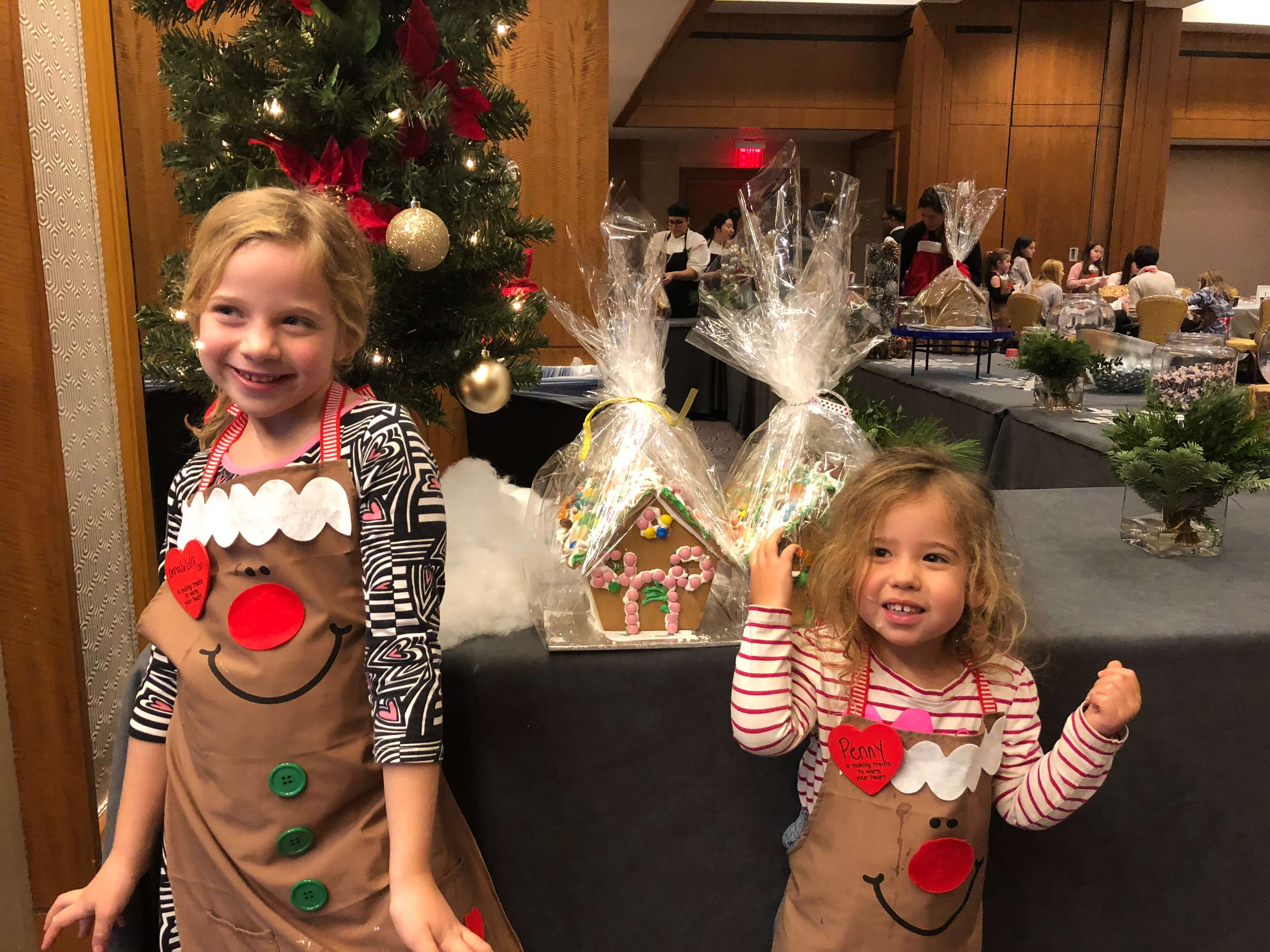 gingerbread house decorating adding icing westchester events final