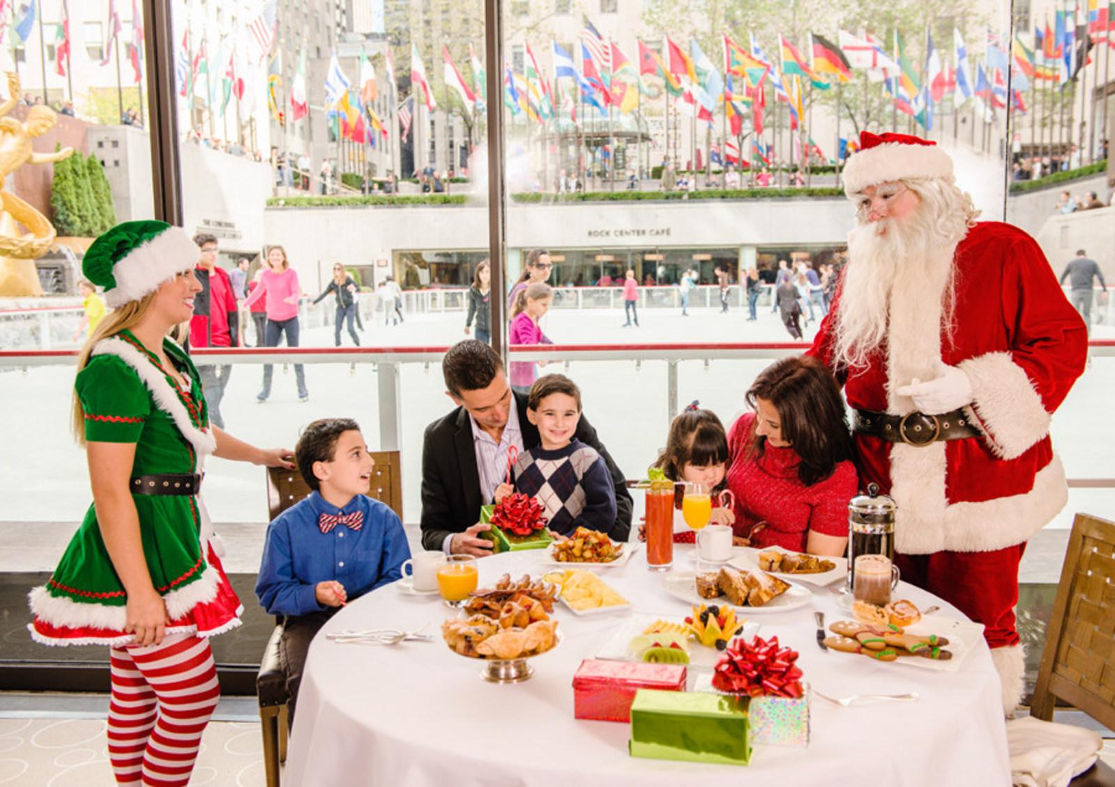 holiday fun at the Rink at Rockefeller Center
