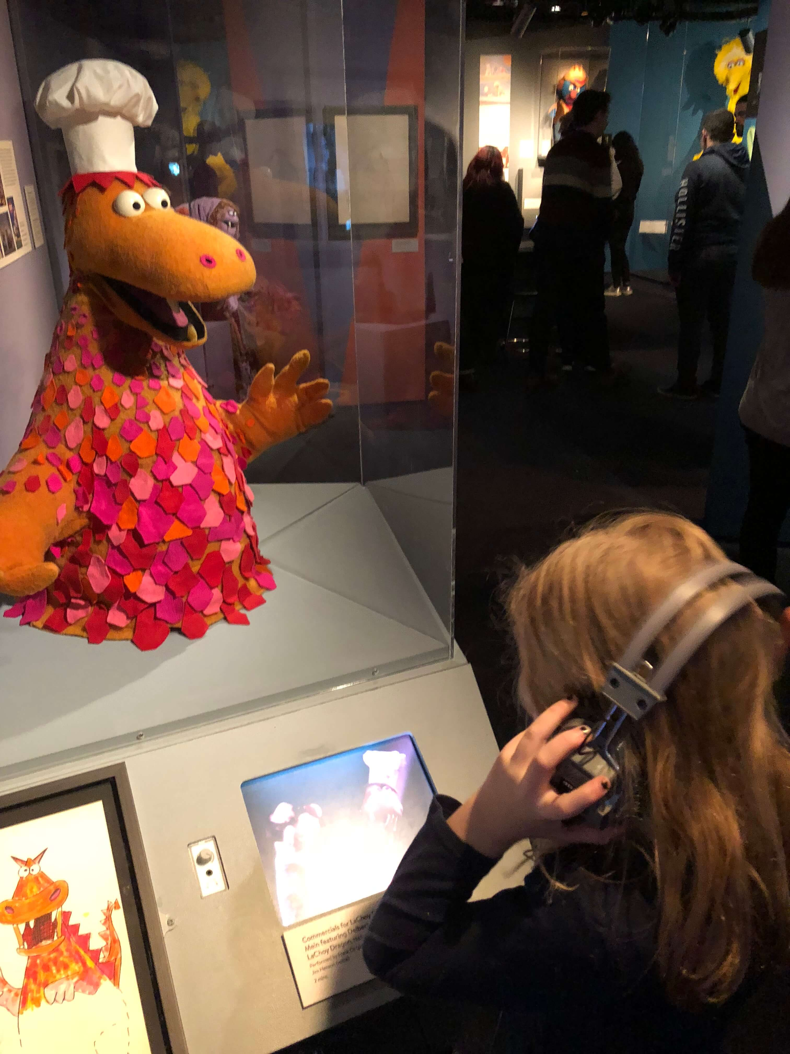 museum of the moving image screen  The Jim Henson Exhibition interactive for kids