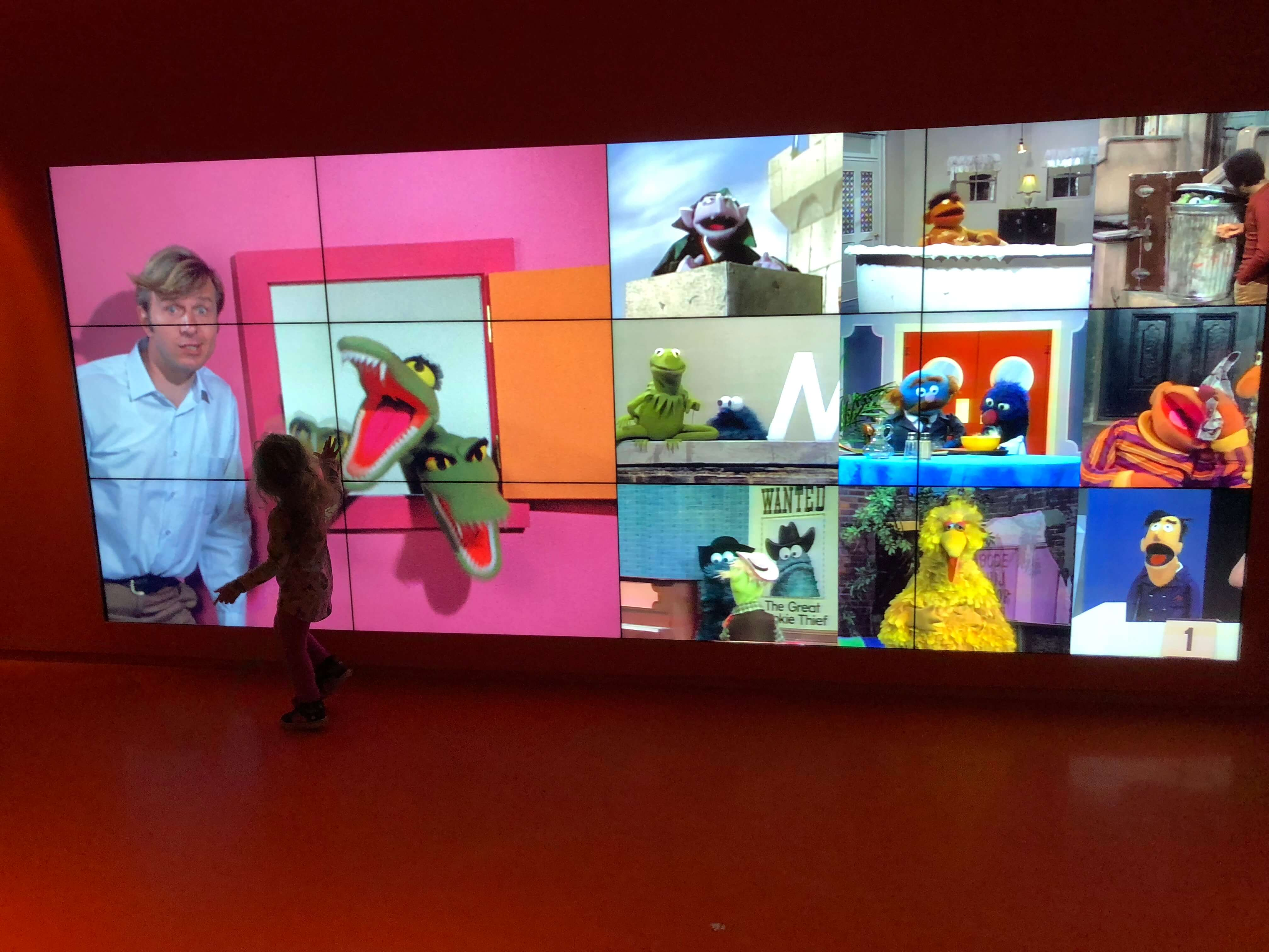 The Jim Henson Exhibition at the museum of the moving image for kids