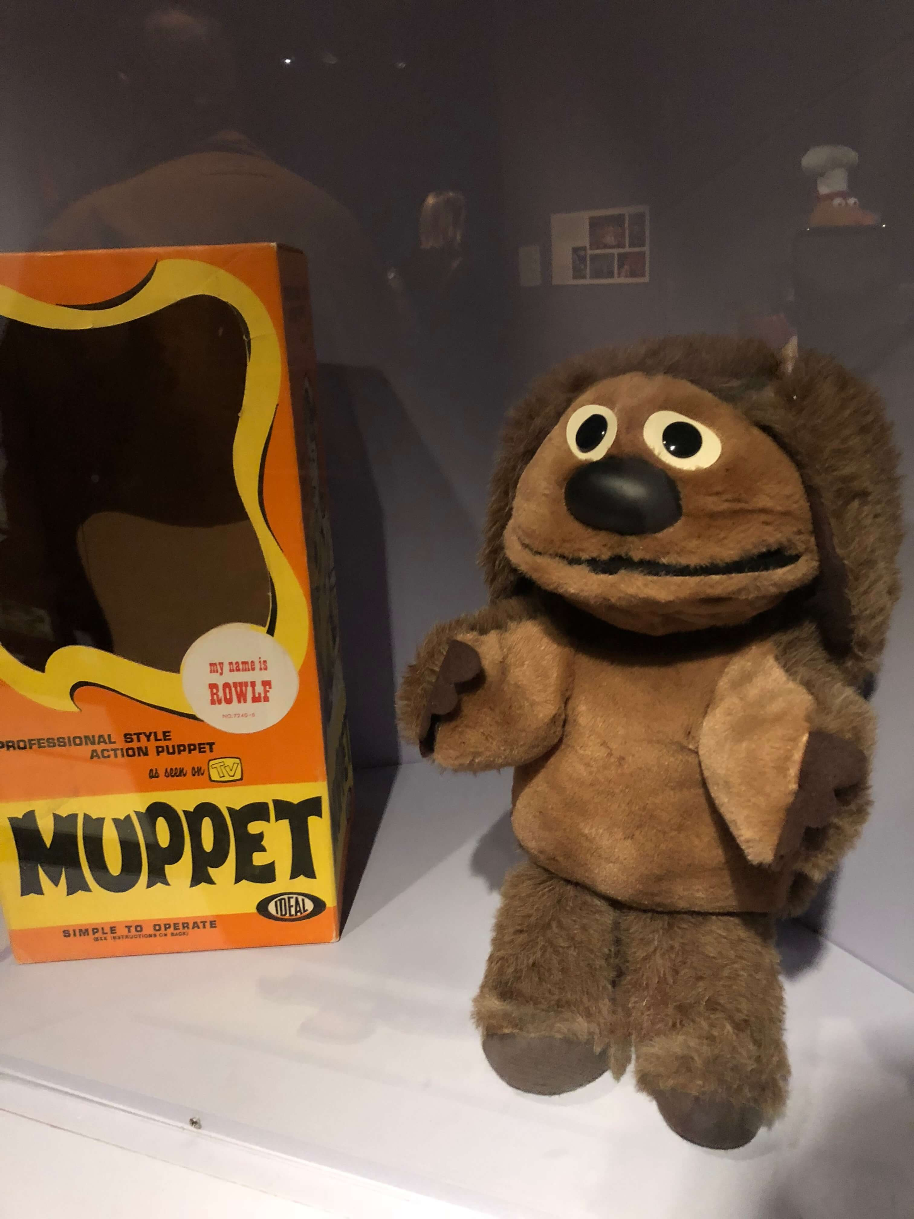 museum of the moving image screen  The Jim Henson Exhibition rowlf