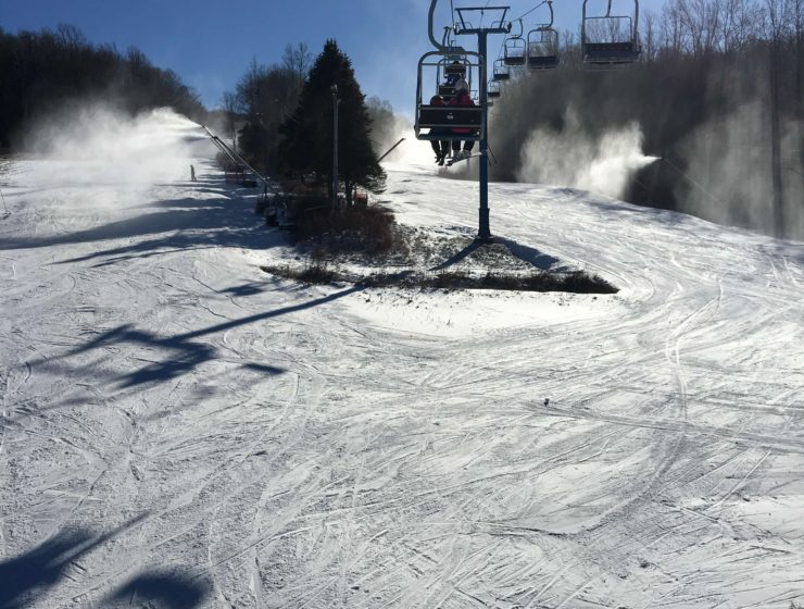 First-Time Skiing at Shawnee Mountain Ski Area