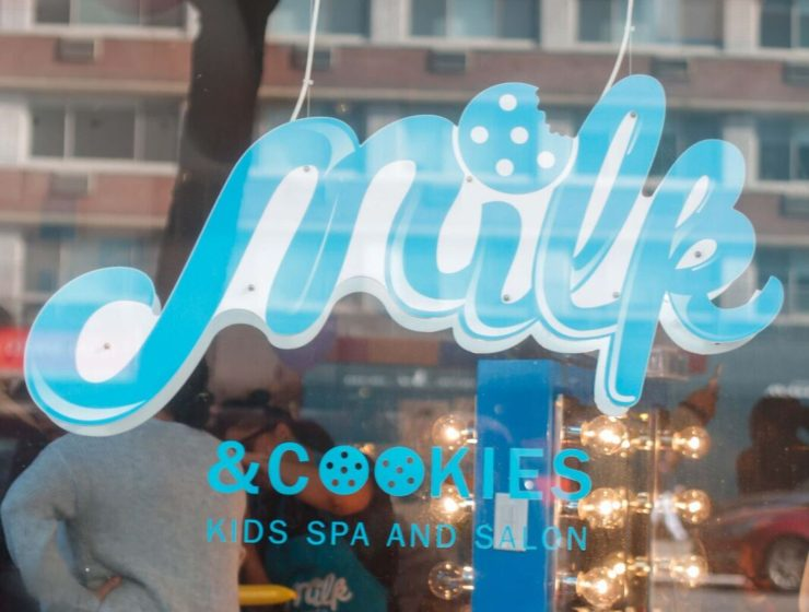 Party and Pampering at The Milk & Cookies Kids Spa