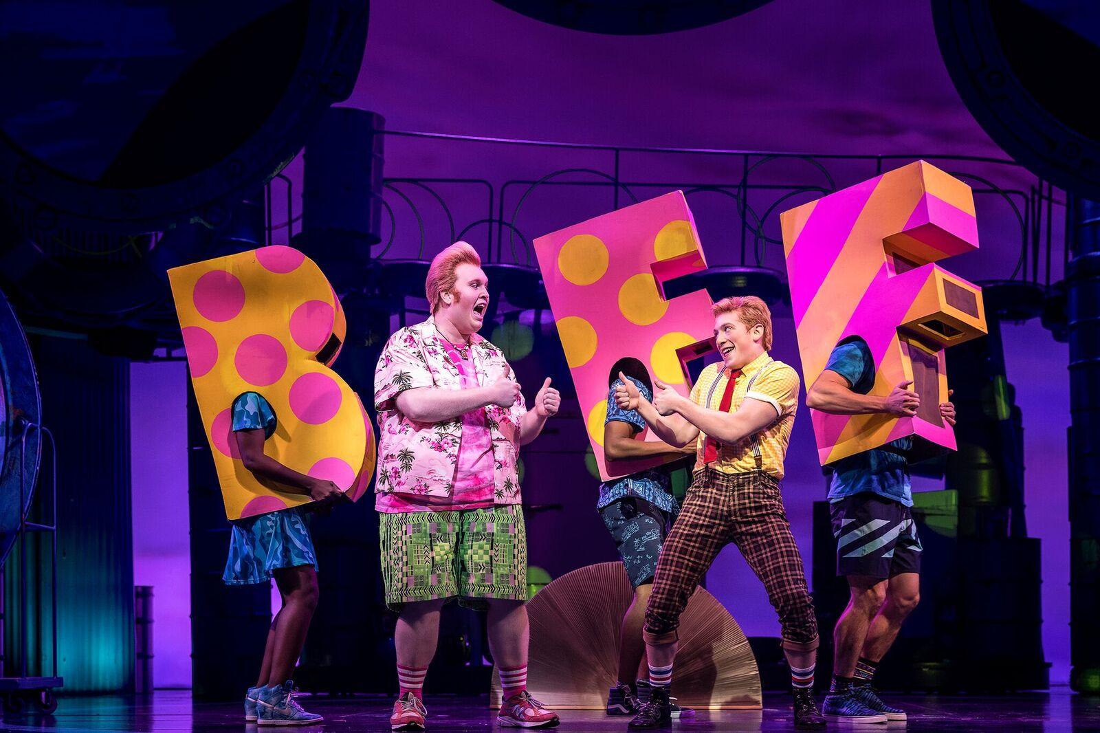 SpongeBob SquarePants The Broadway Musical BFF song
