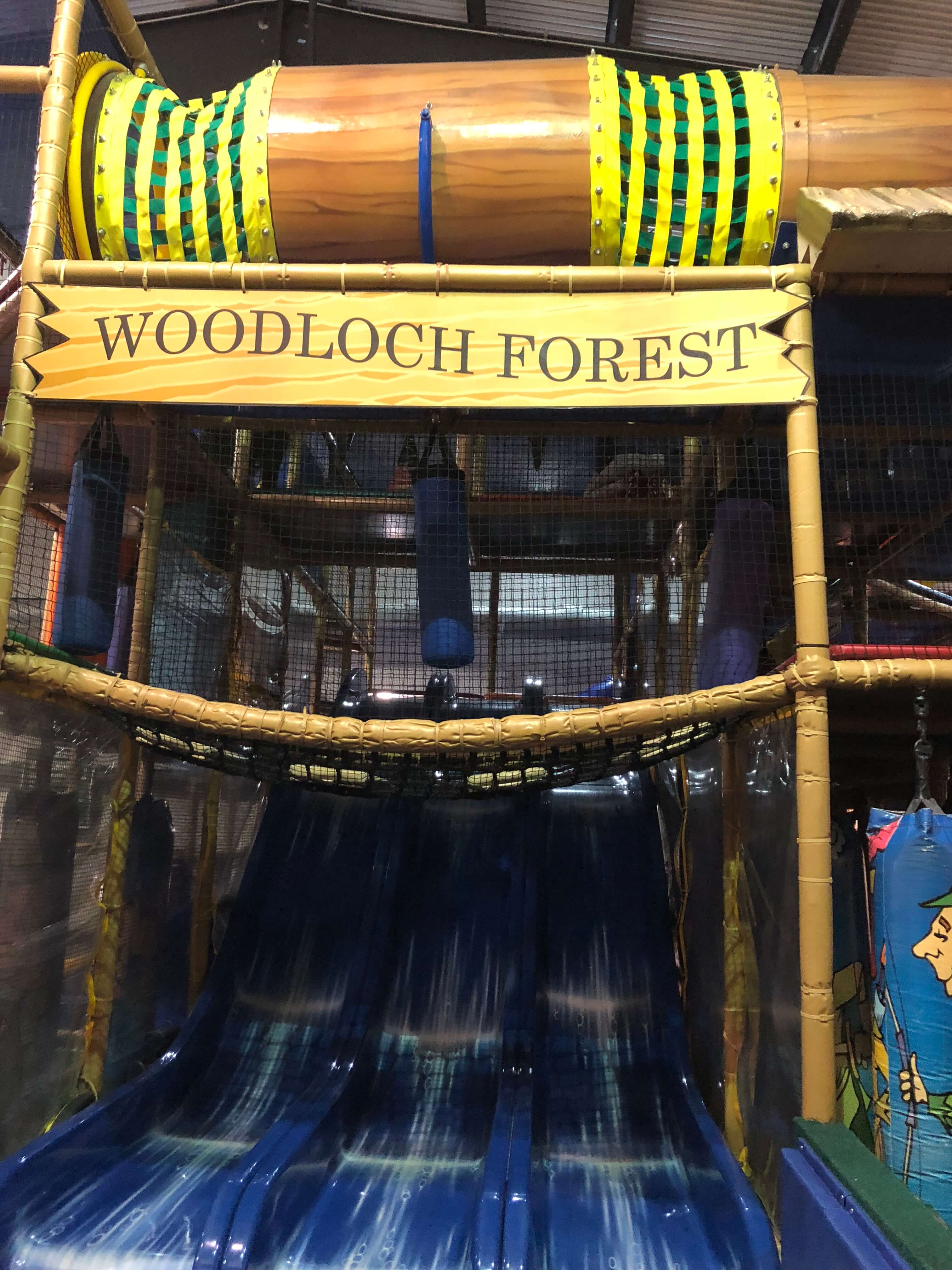 the forest Indoor Play Area at woodloch
