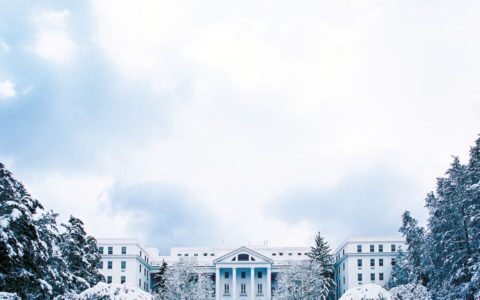 Wintertime at The Greenbrier travel idea for families