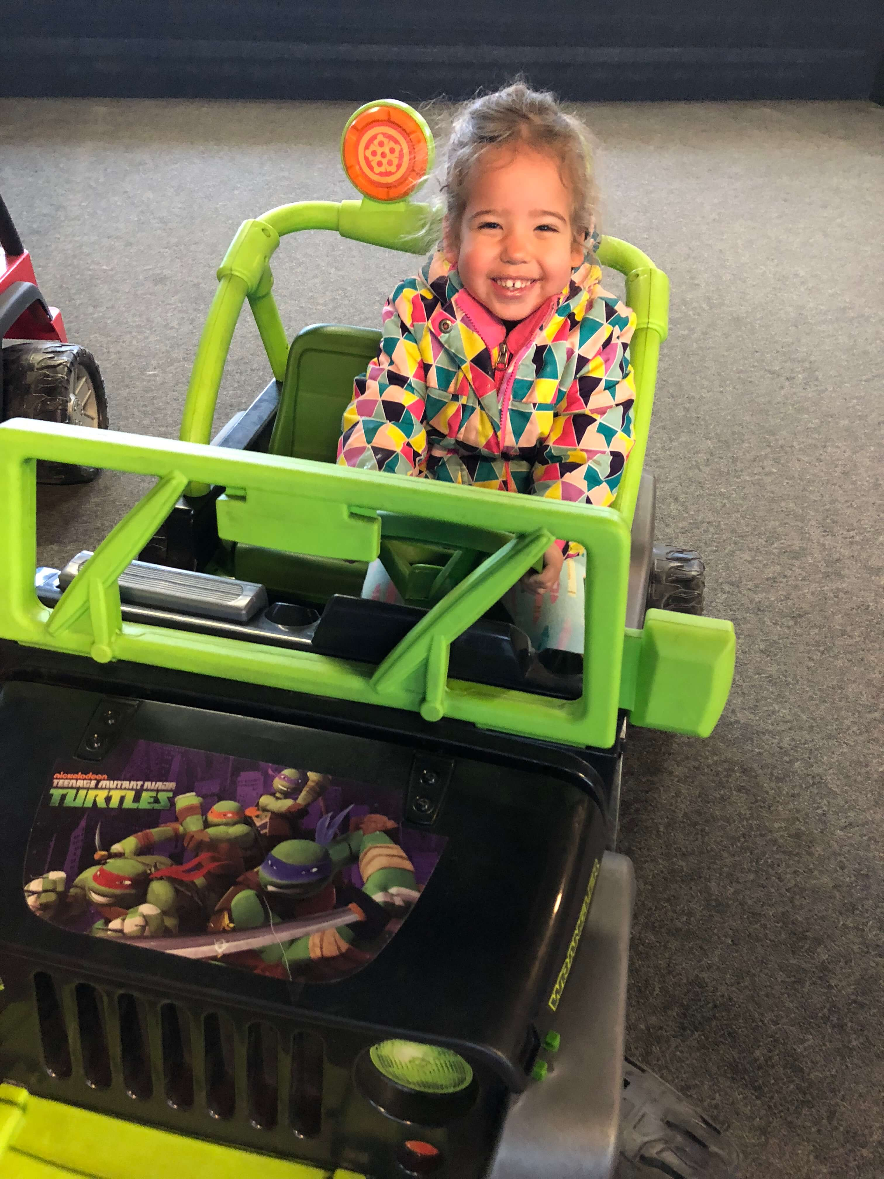 bumper cars for toddlers at woodloch