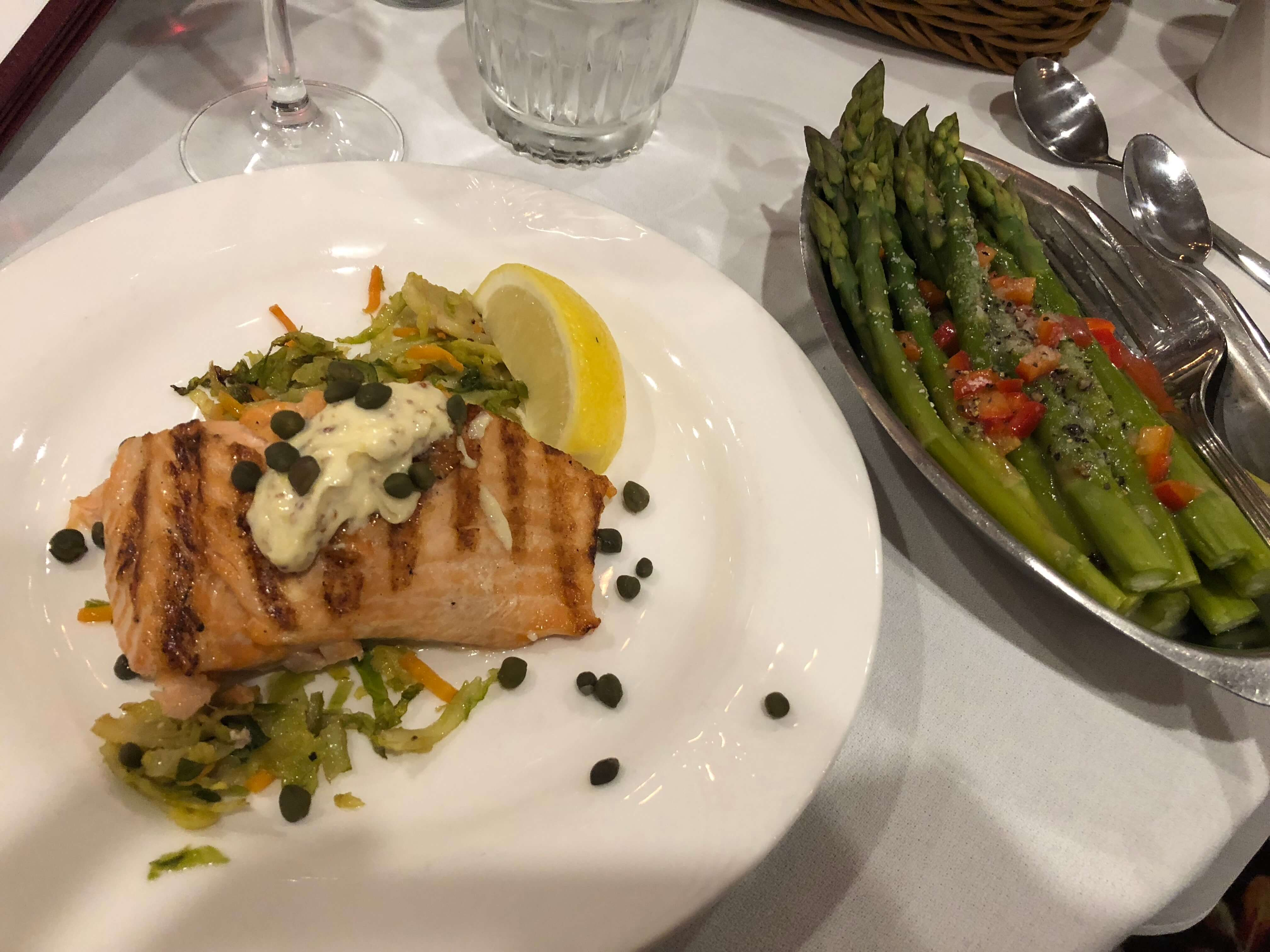 food at woodloch salmon