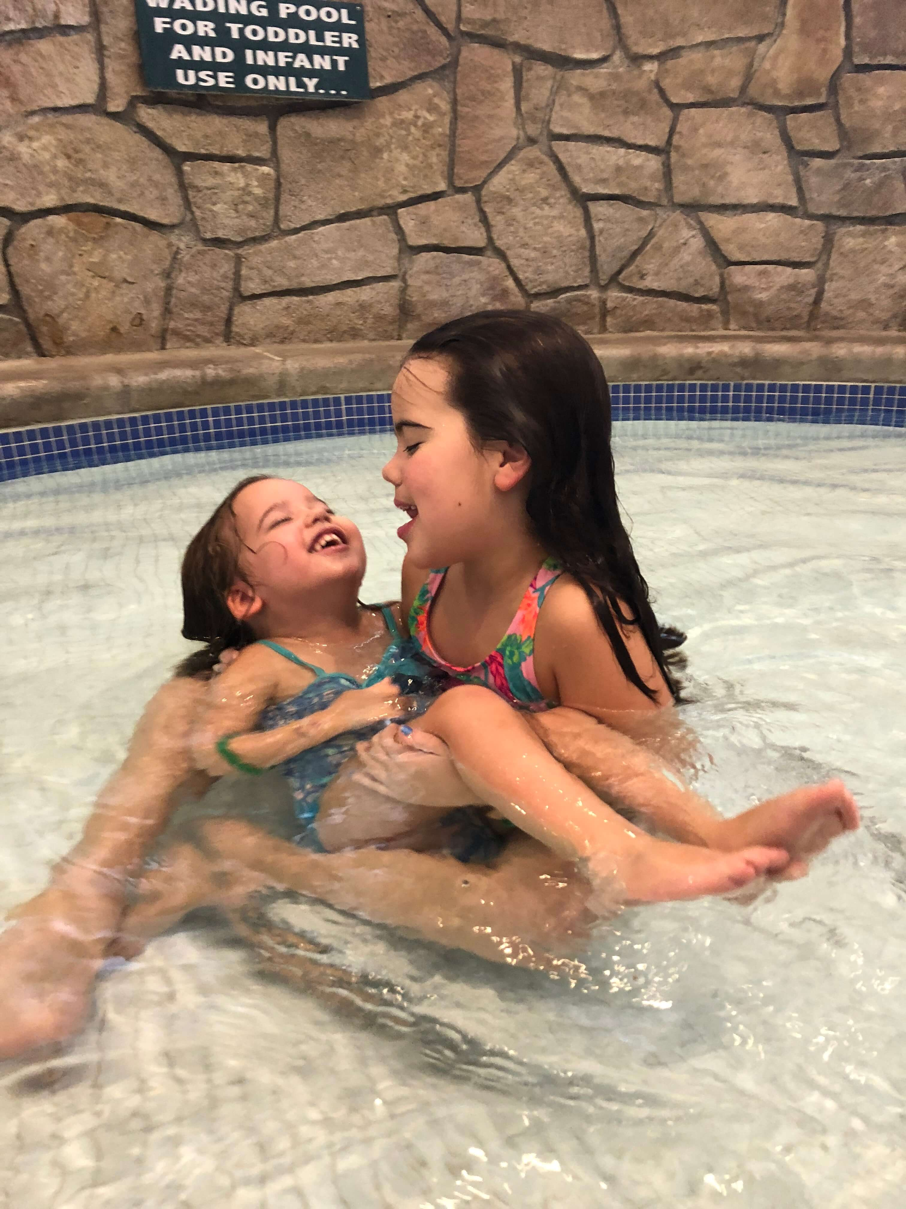 pool for kids at woodloch