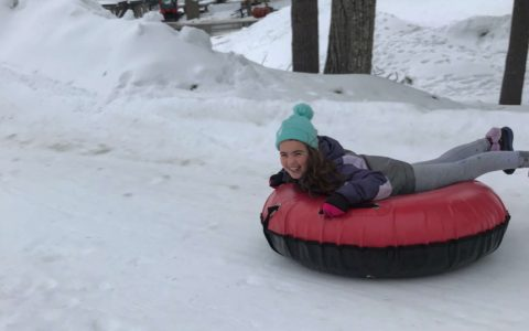Woodloch snow tubing