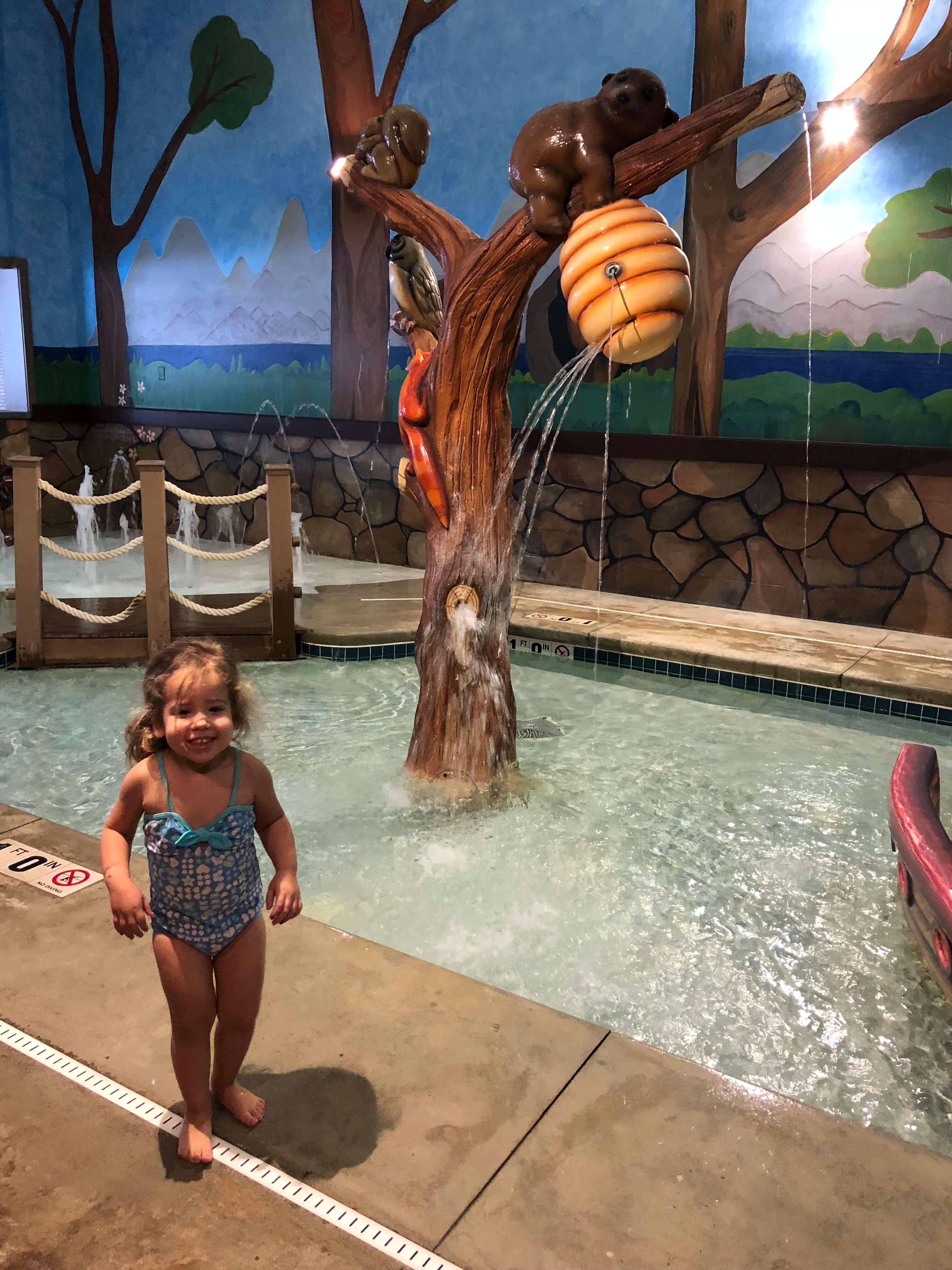 pool fun at woodloch