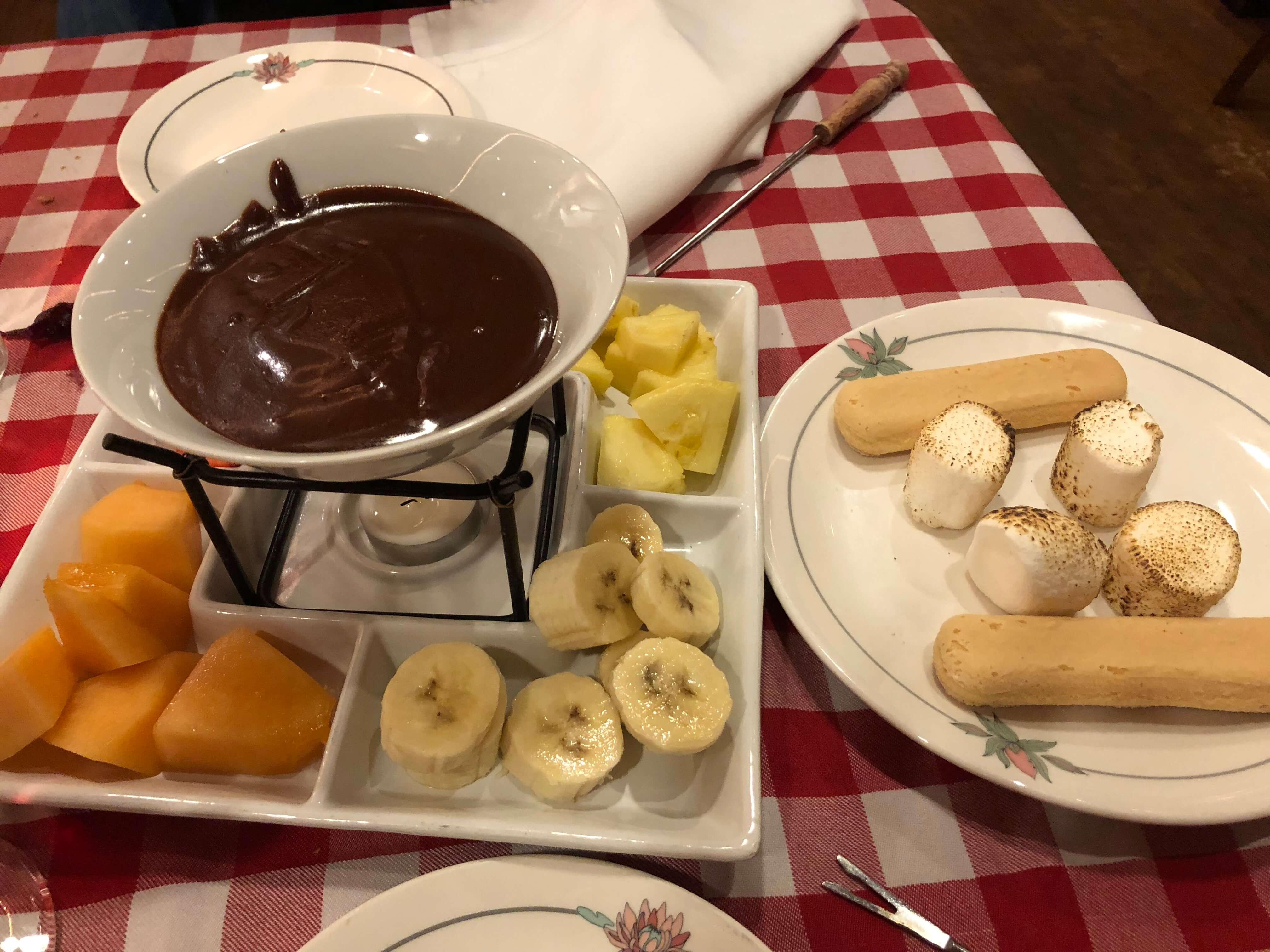 fondue Lugano's Swiss Bistro in Carmel-by-the-Sea