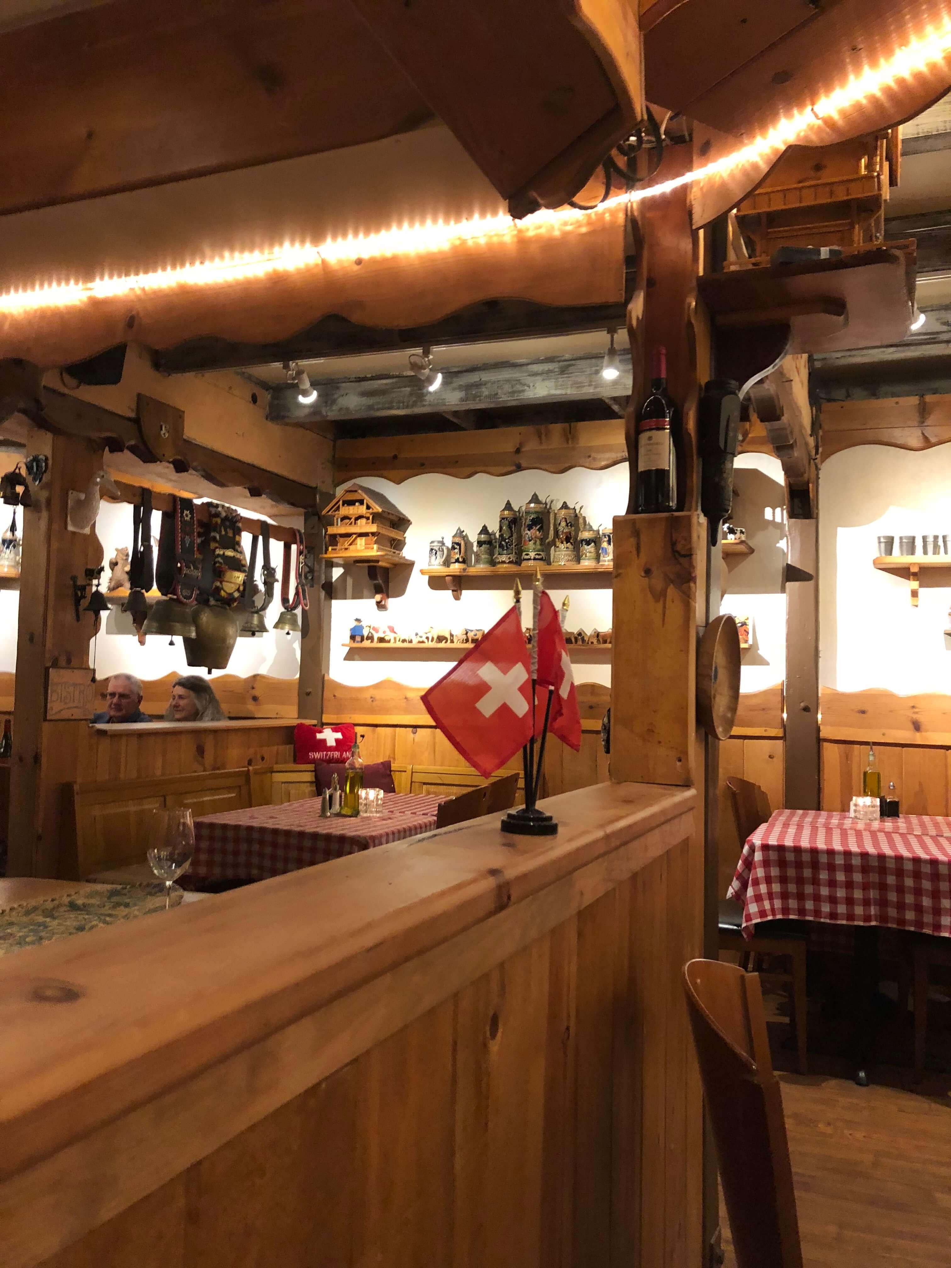 Lugano's Swiss Bistro in Carmel-by-the-Sea