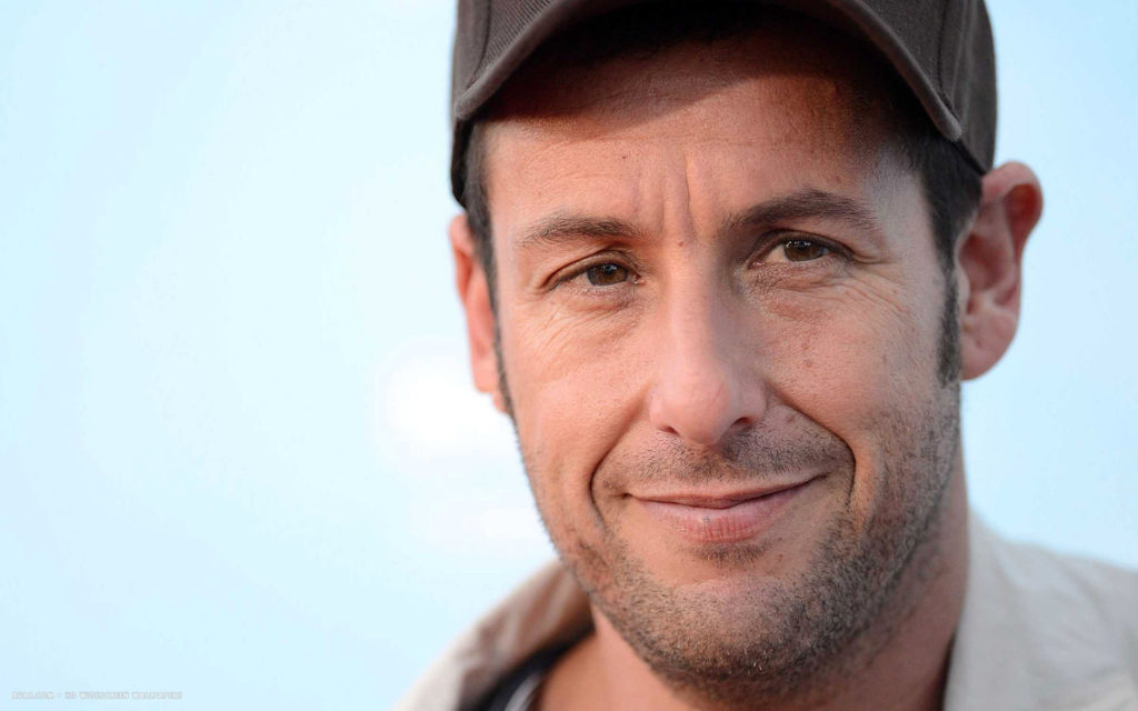 adam sandler at the new jersey performing arts center